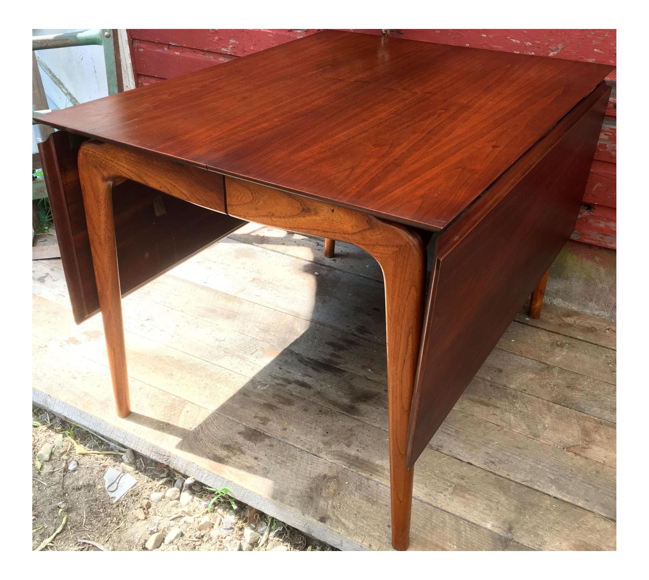 Vintage & Used Mid-Century Modern Drop-Leaf and Pembroke Tables ...