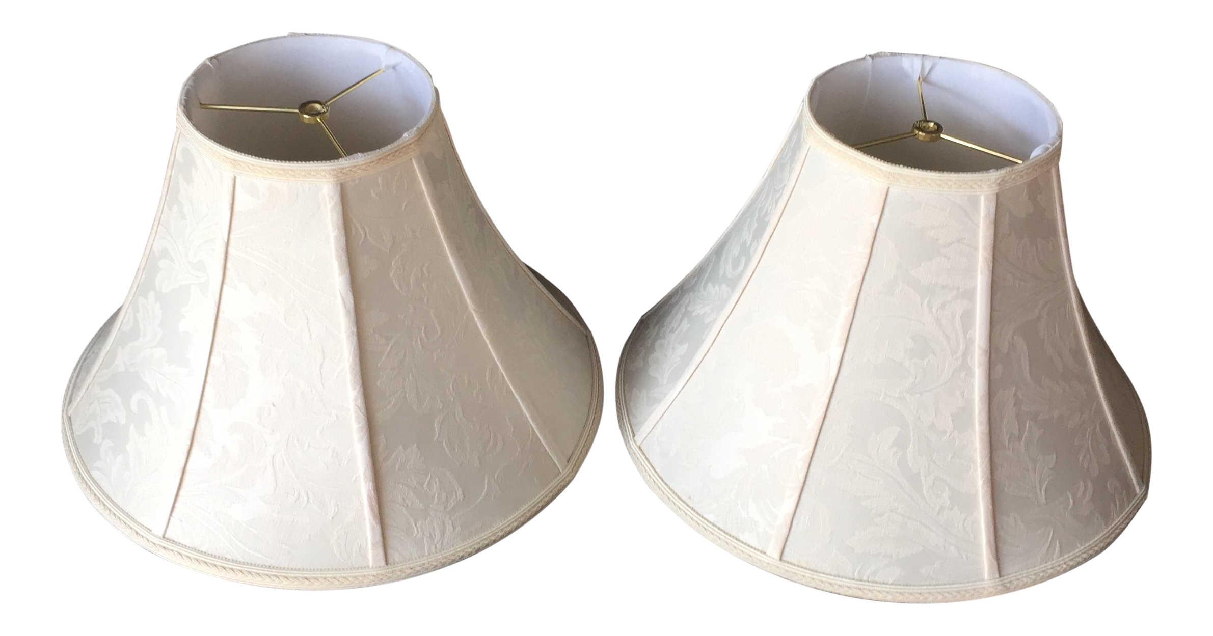 Stiffel lamp shades a pair chairish