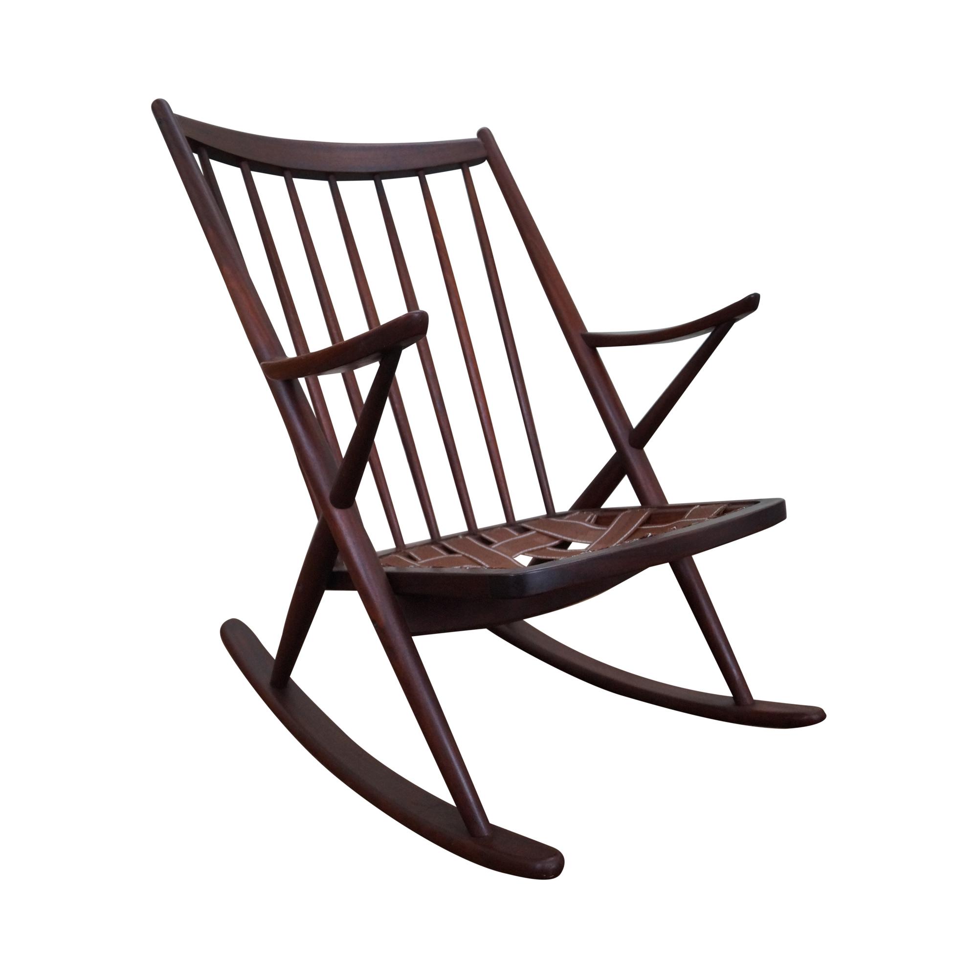 Frank reenskaug rocking chair - Frank Reenskaug Rocking Chair 6