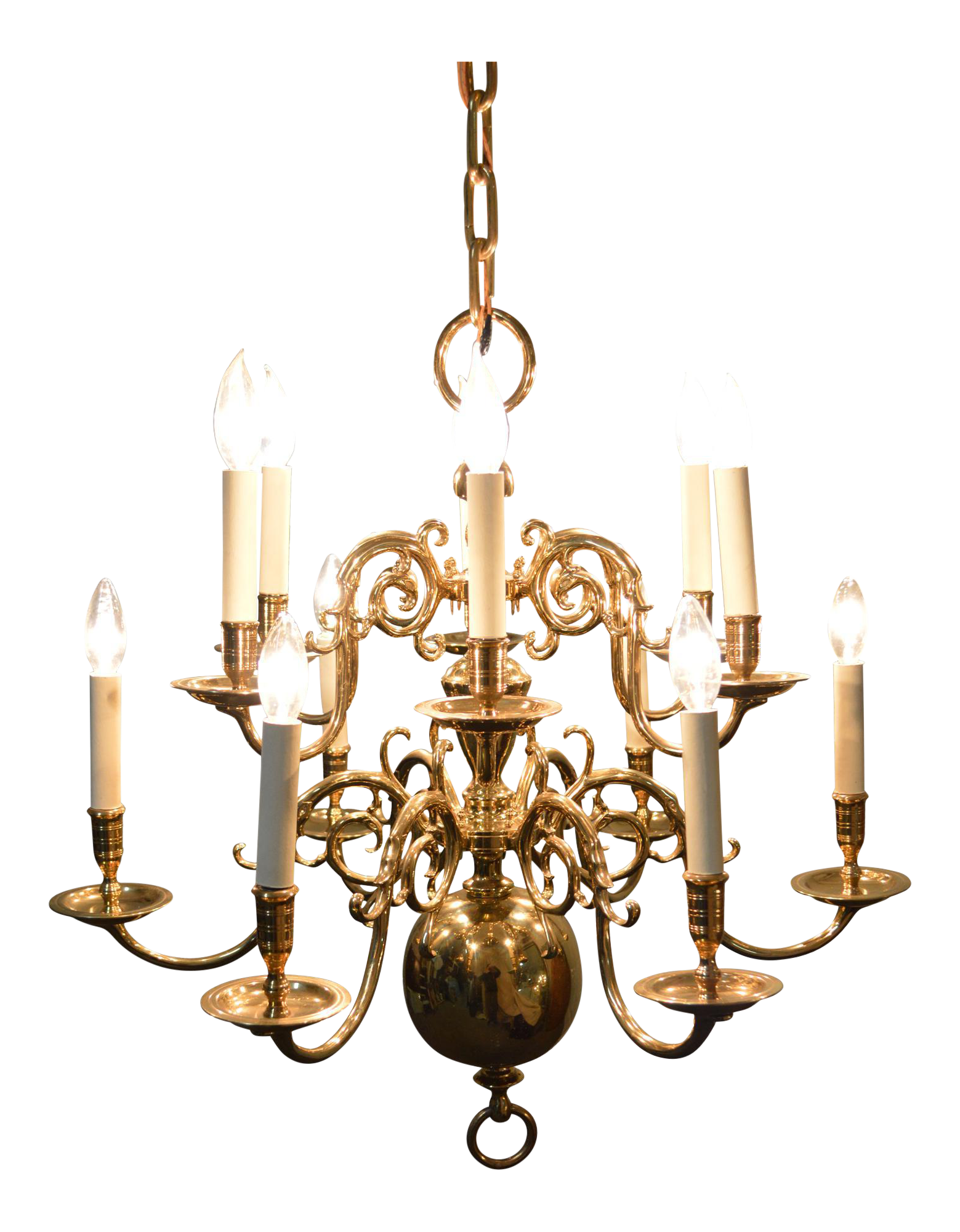 style glass product cut colonial shades chandelier