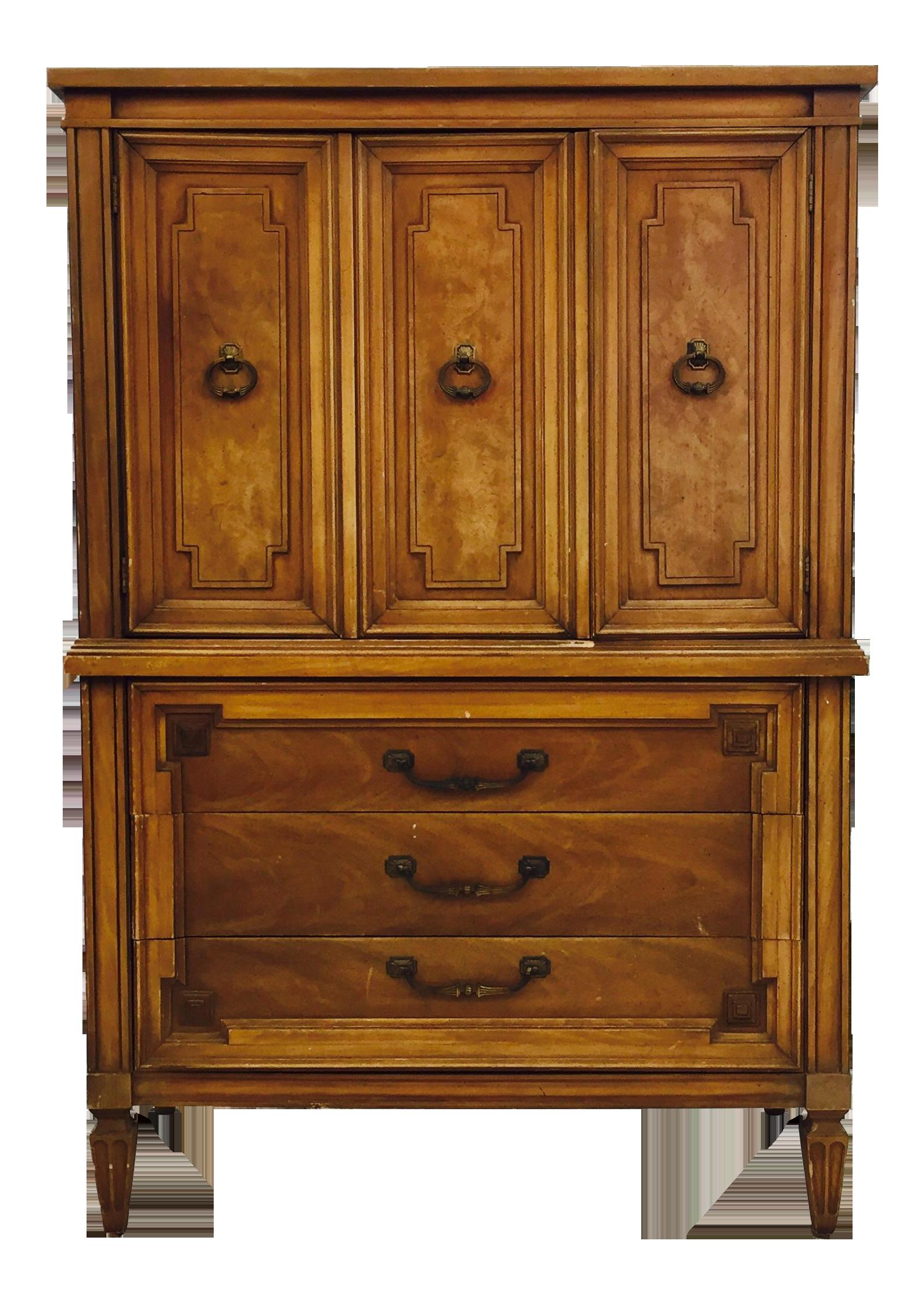 - Vintage Thomasville Tall Dresser Chest Chairish