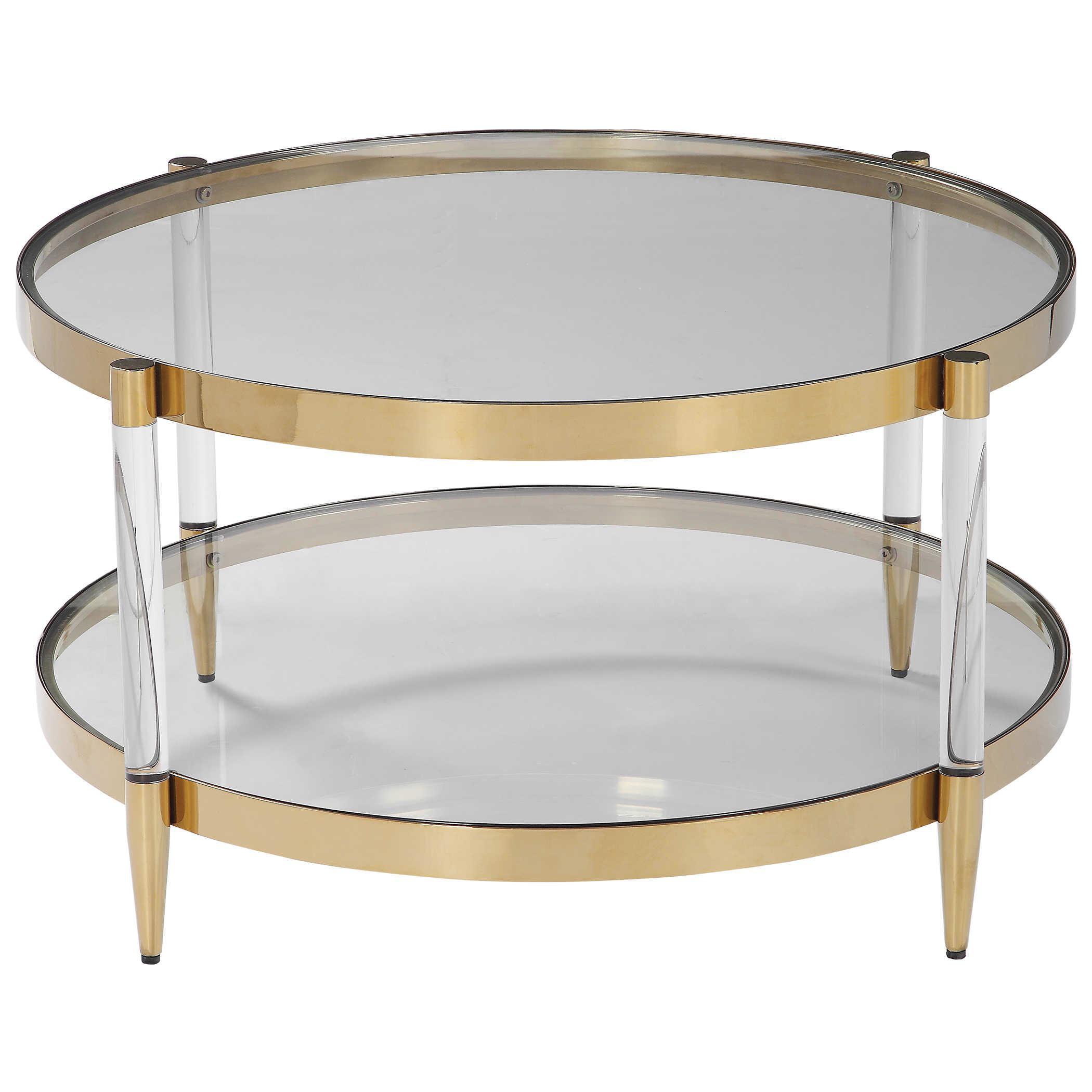 Round Coffee Table Chairish