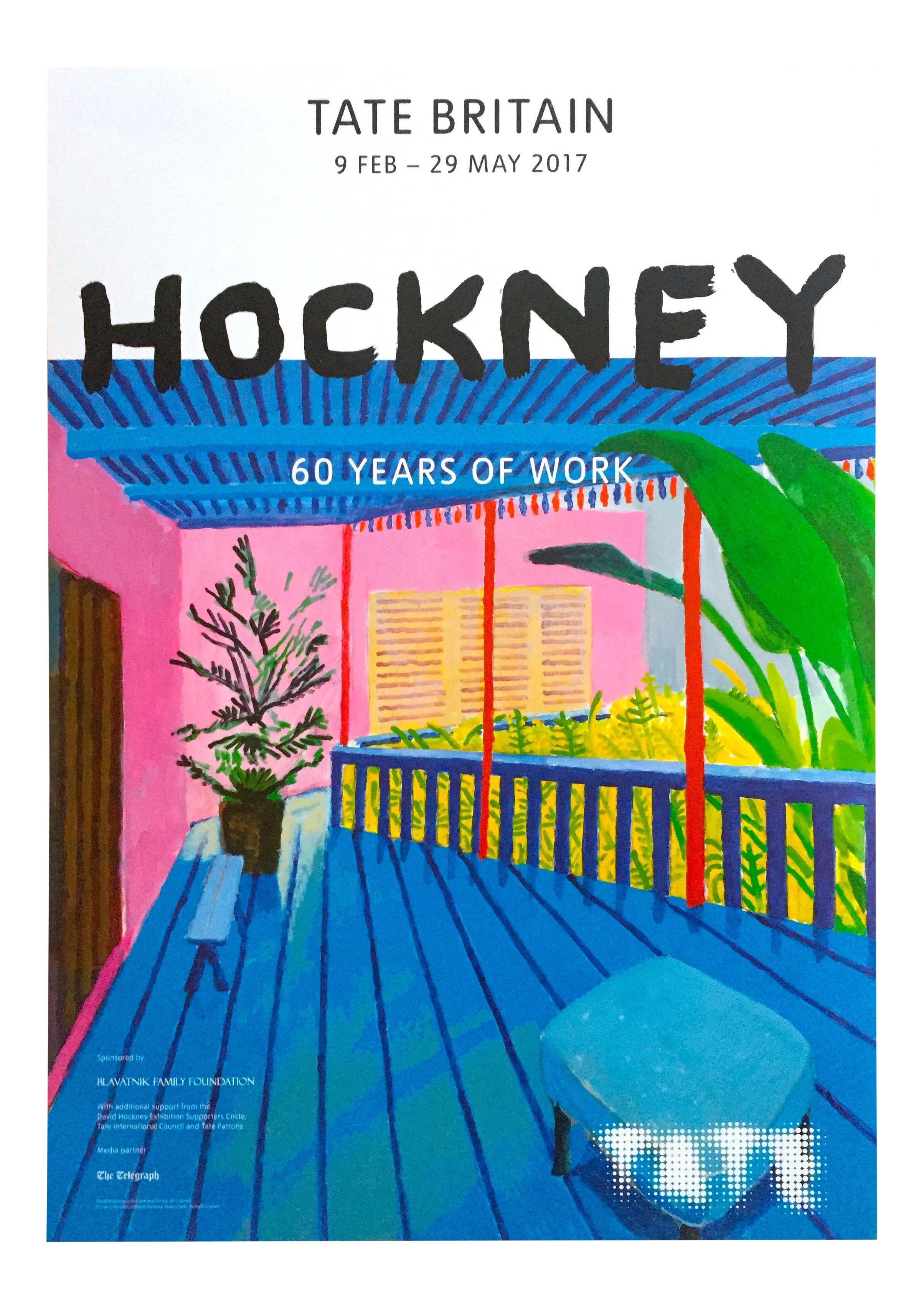 David Hockney Lithograph Print Tate Museum Quot 60 Years Of