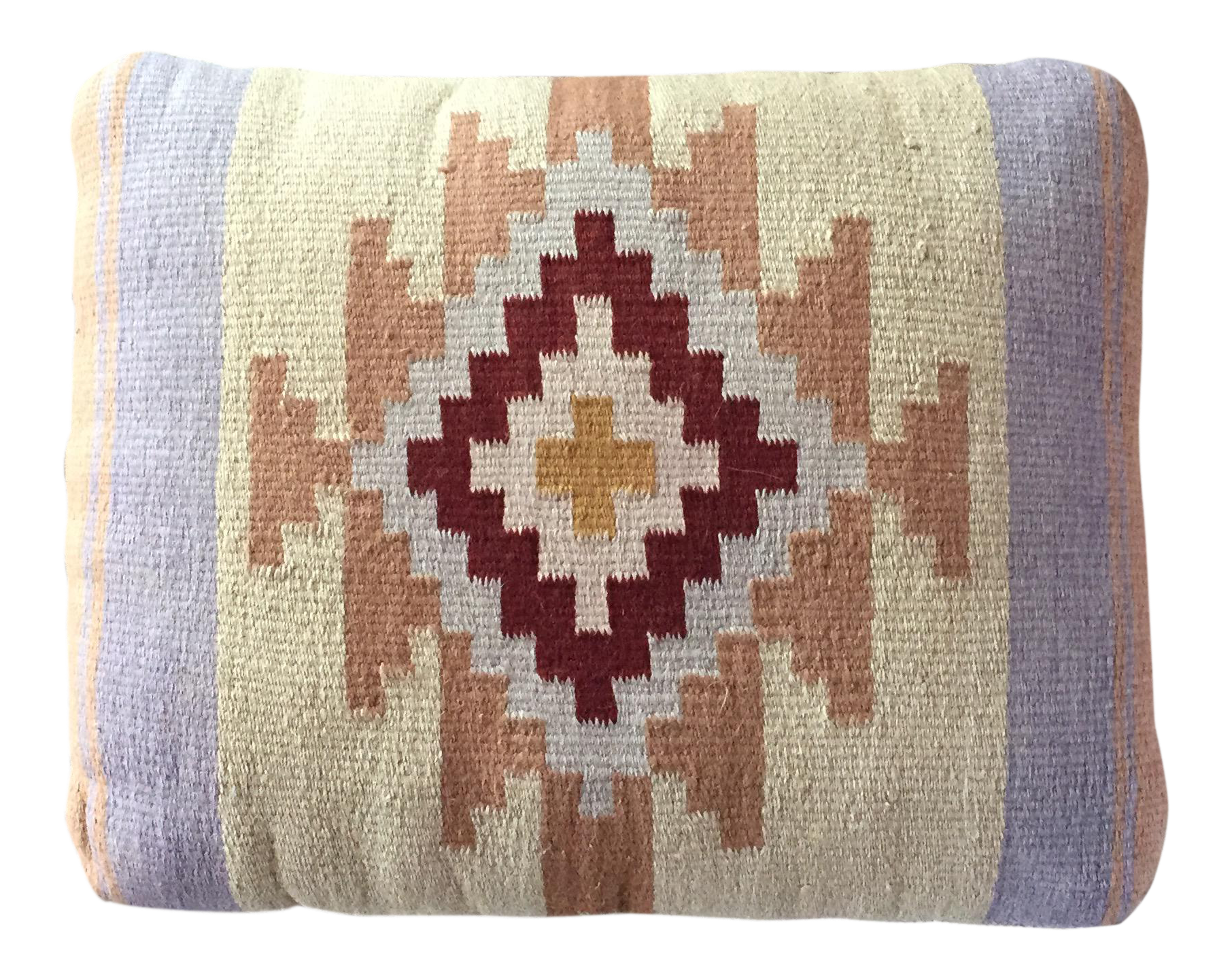 Southwestern Pillows And Rugs : Southwestern Rug Wool & Canvas Pillow Chairish