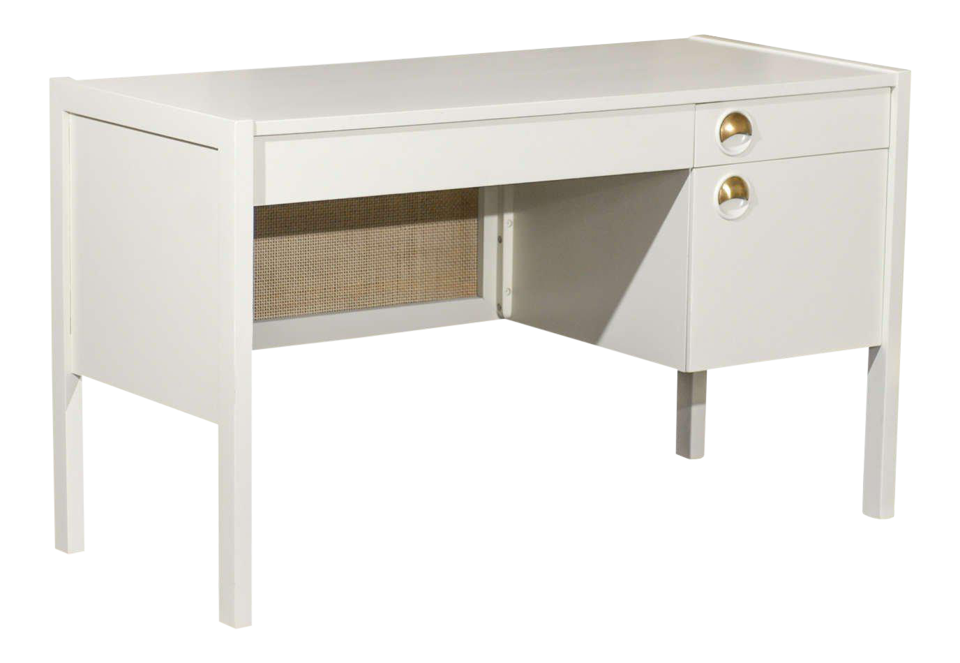 office dp look silver dining metal com with drawer reclaimed amazon kitchen drawers monarch desk natural inch modern