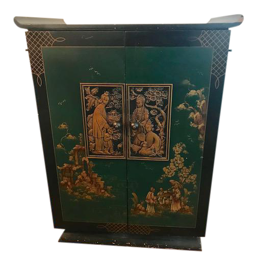 - 1930's Vintage Bar Cabinet Chairish