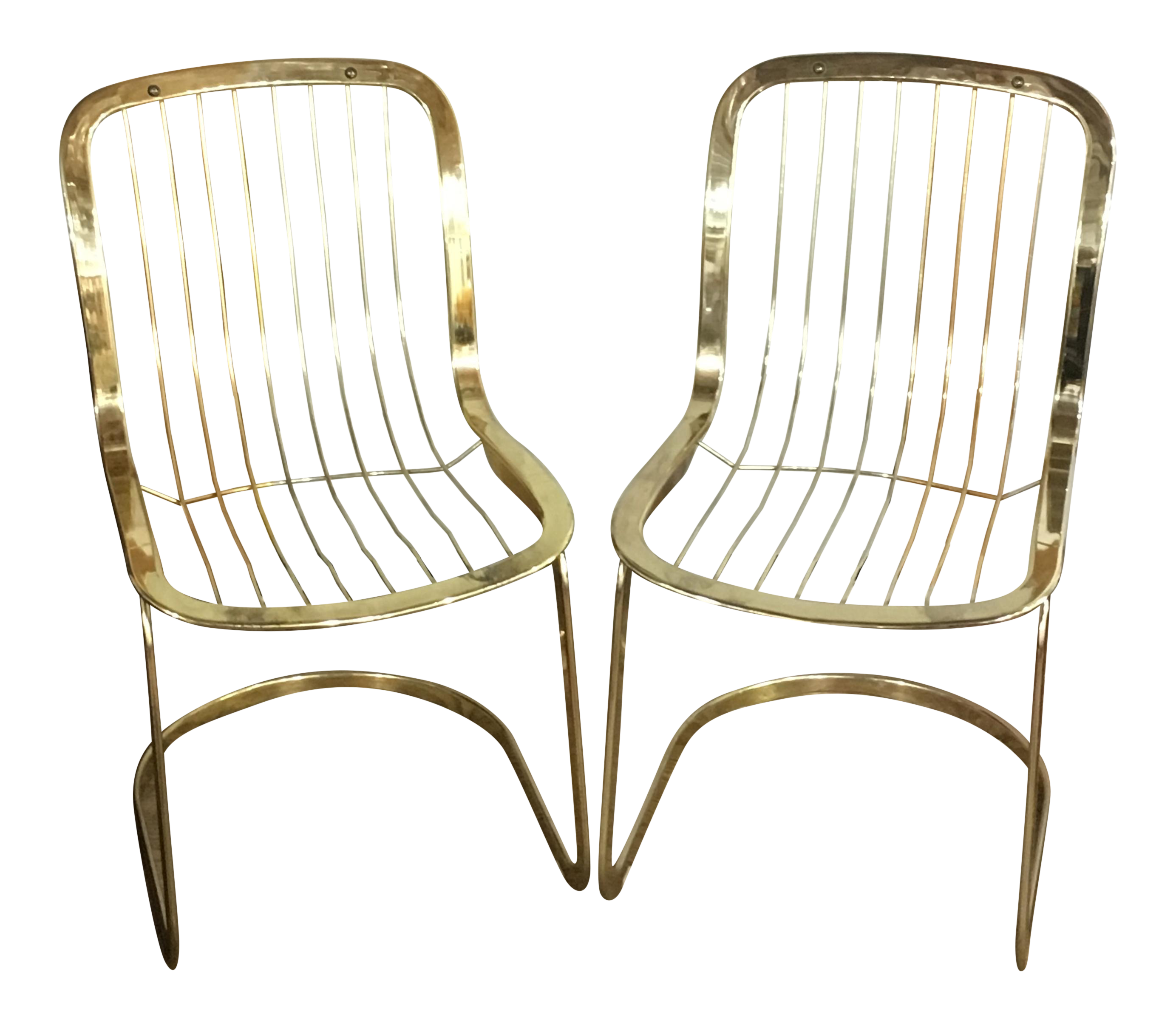 chair of dining chromcraft and green product velvet chairs set brass chairish