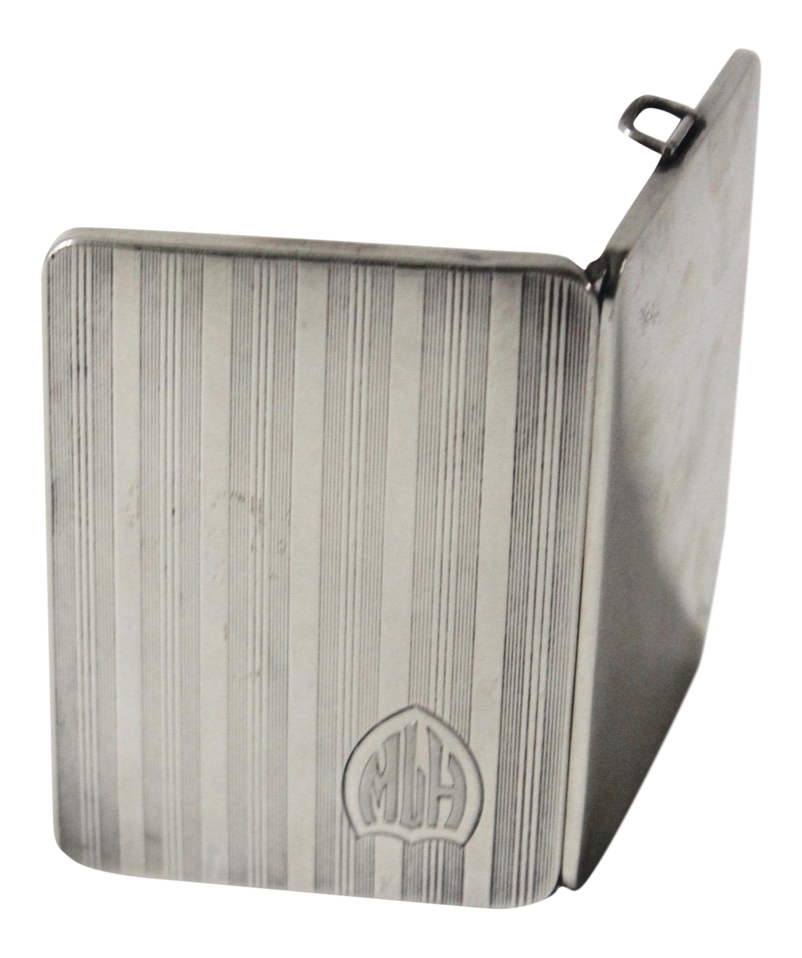 Sterling Silver Elgin Art Deco Evening Cigarette Case Circa 1920\'s ...