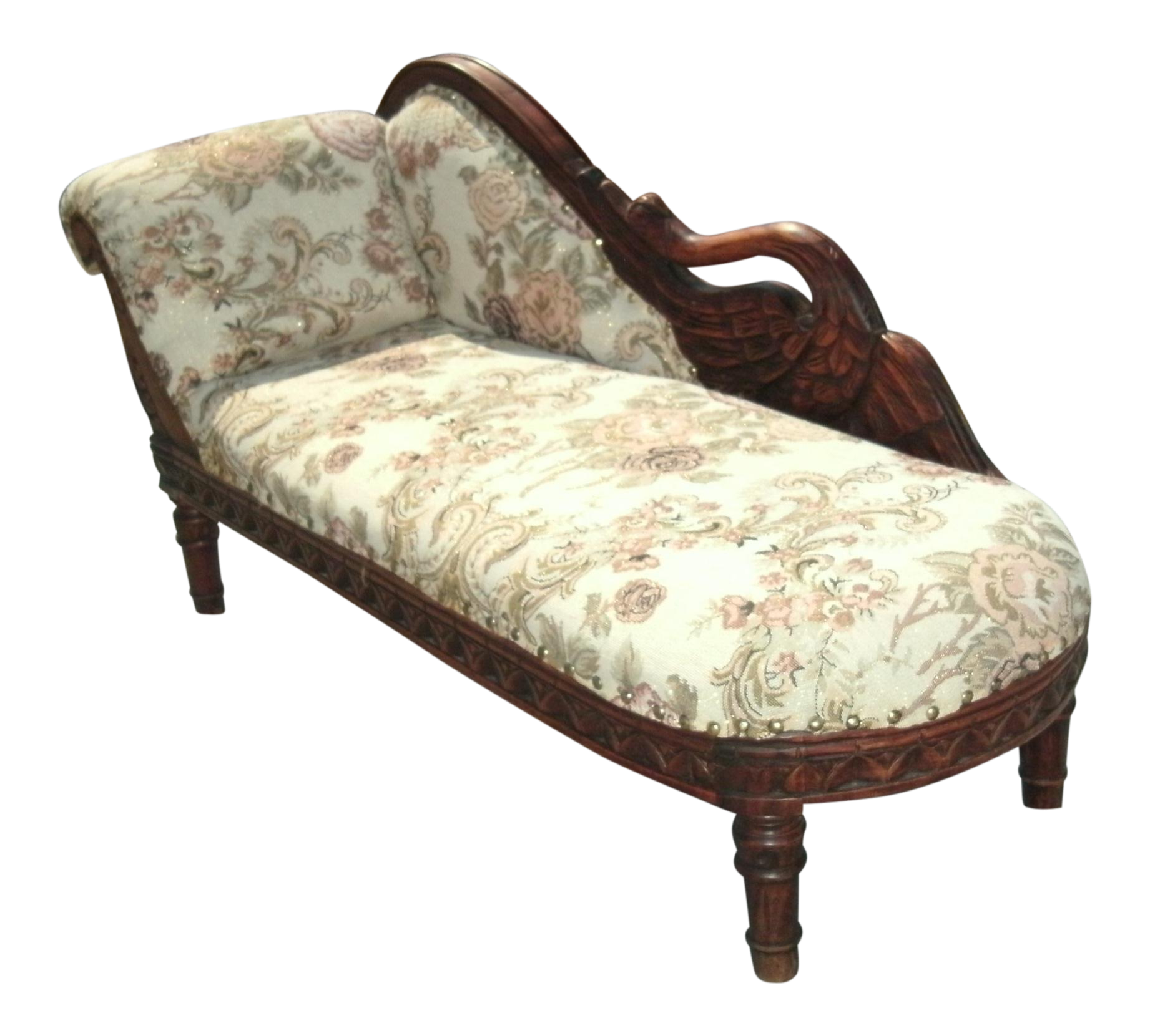 - Child Size Victorian Style Swan Chaise Lounge Chairish