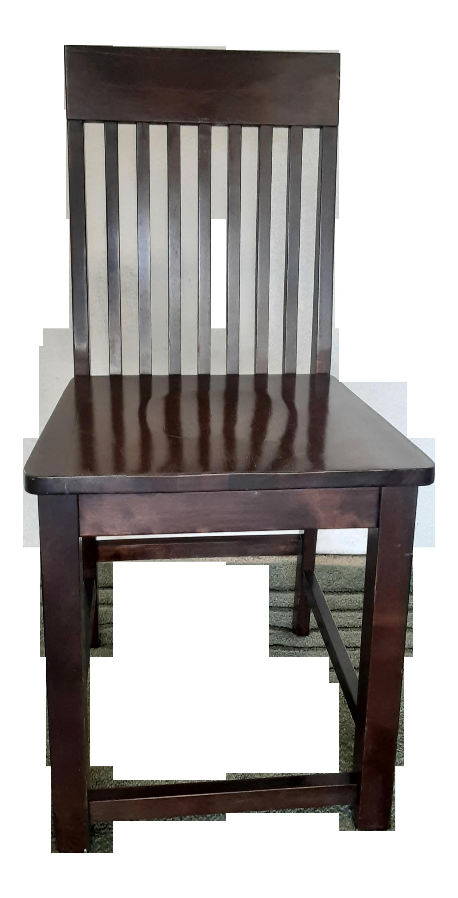 Vintage Mission Oak Office Side Chair Chairish