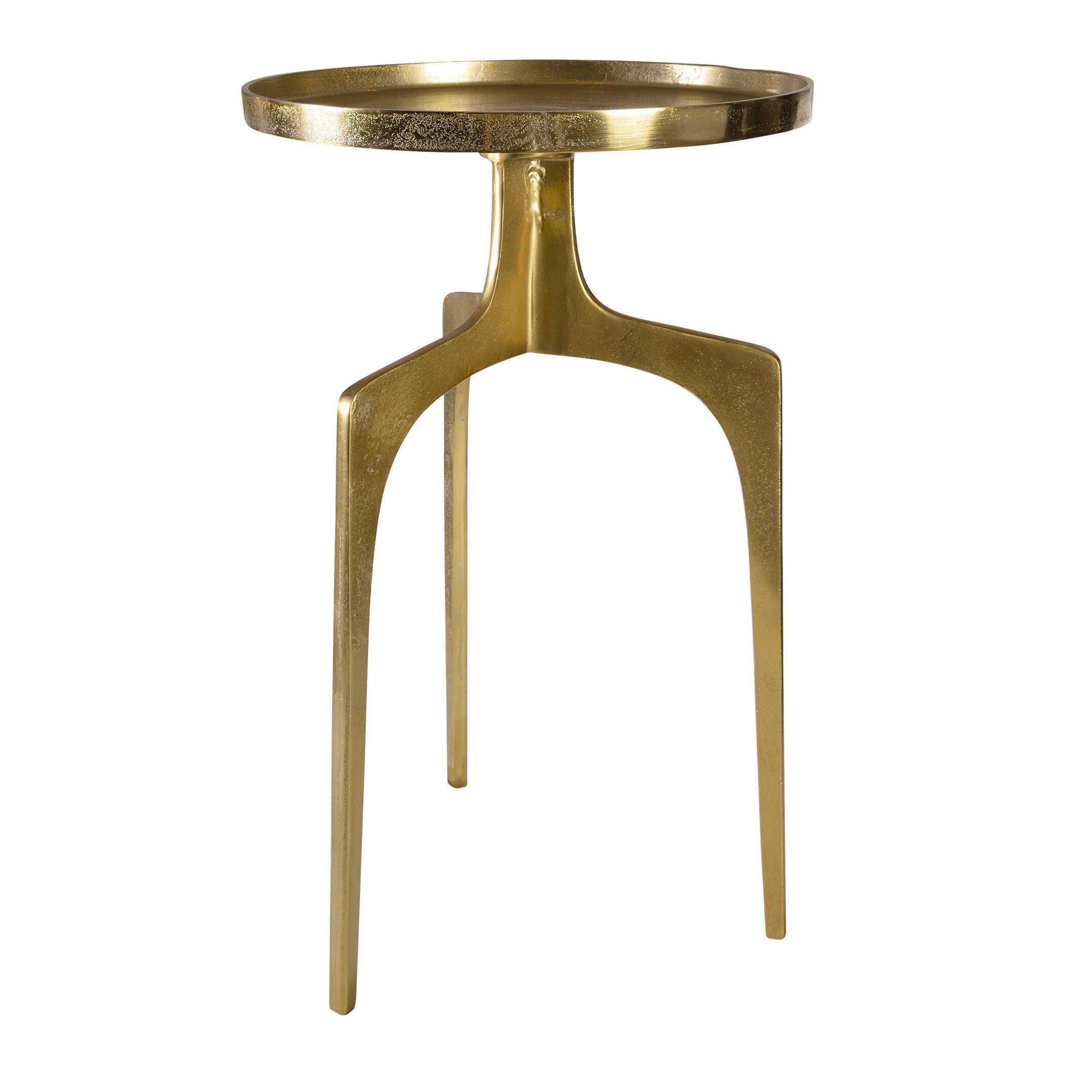 - Mid-Century Modern Aluminum Accent Table Chairish