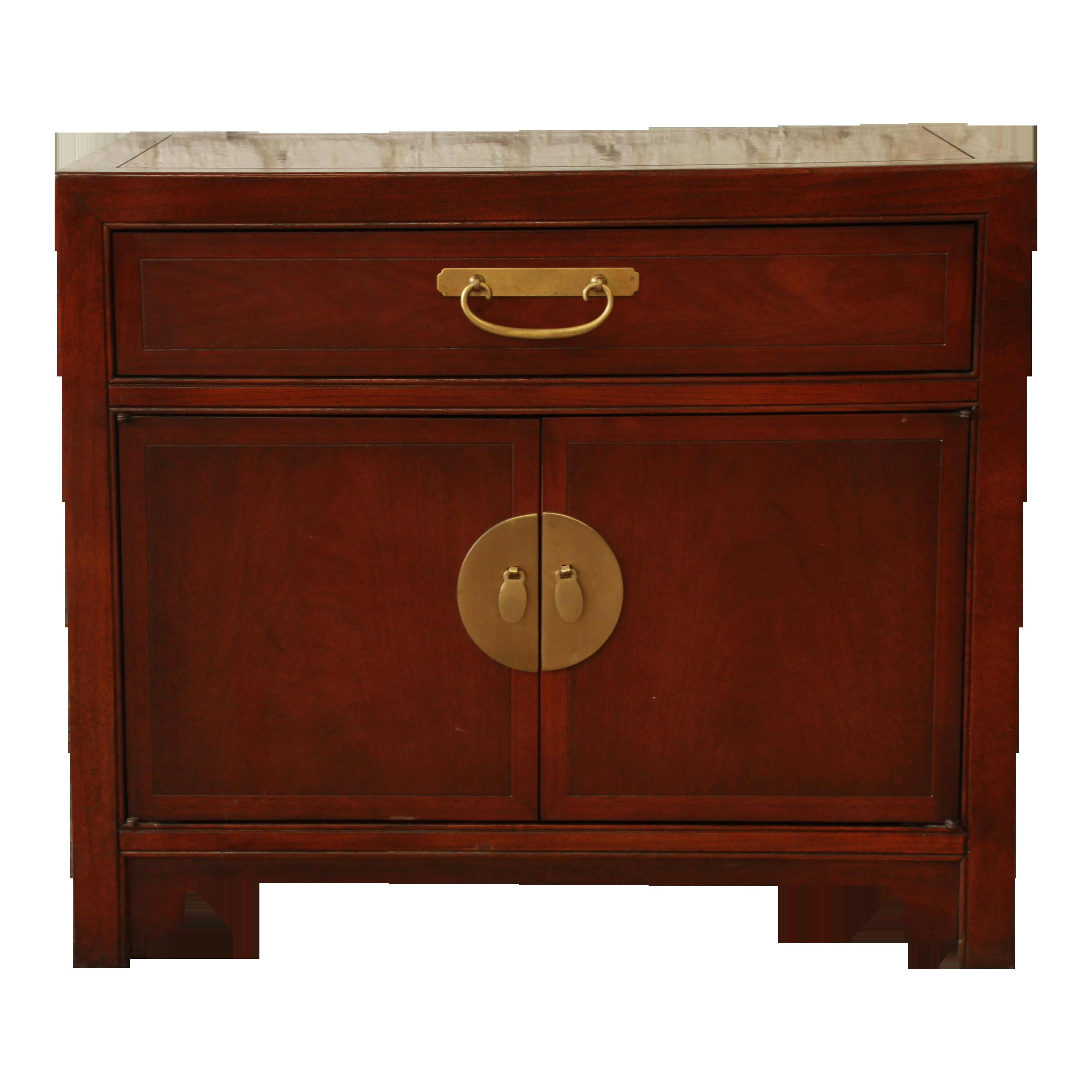 Baker Furniture Chinoiserie Nightstand Chairish