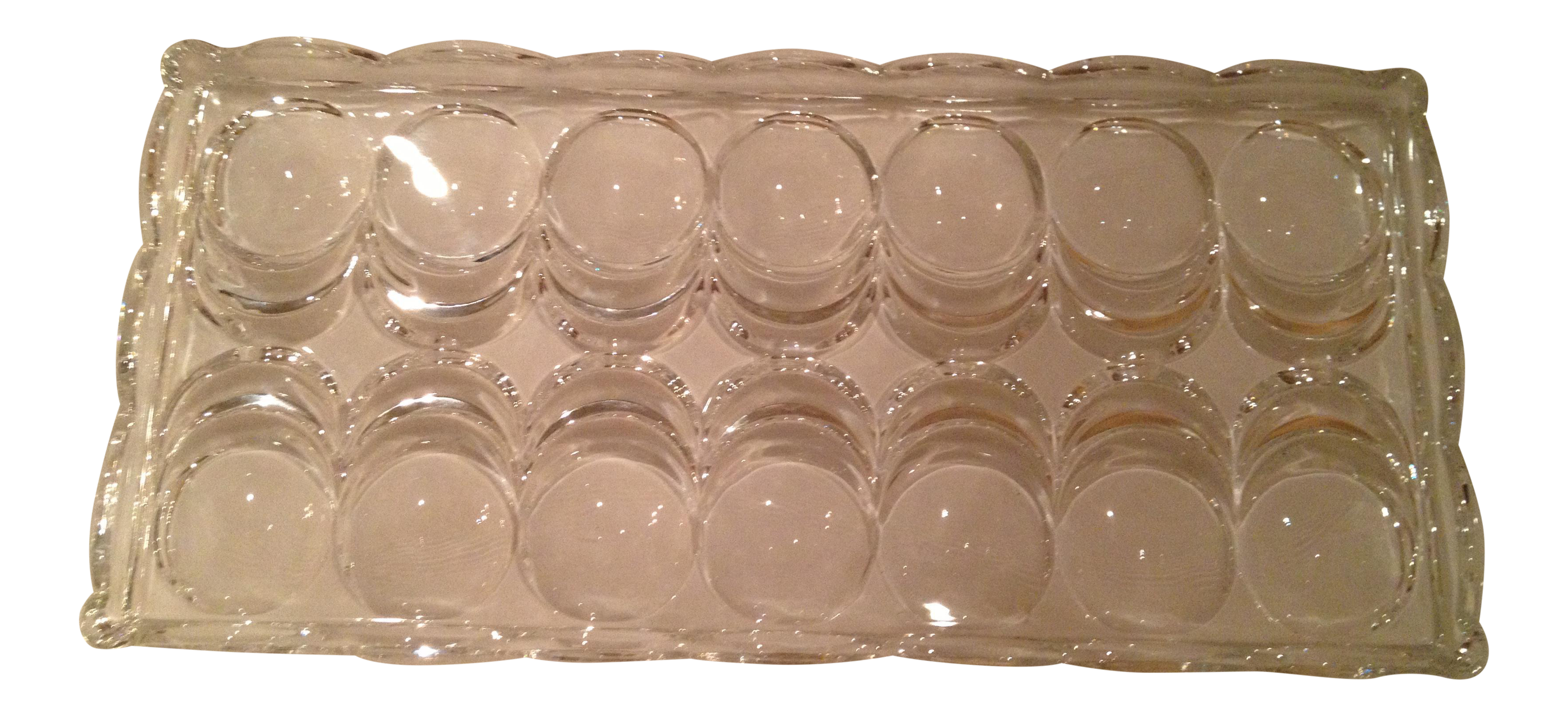 Canap serving tray chairish for Canape serving platters