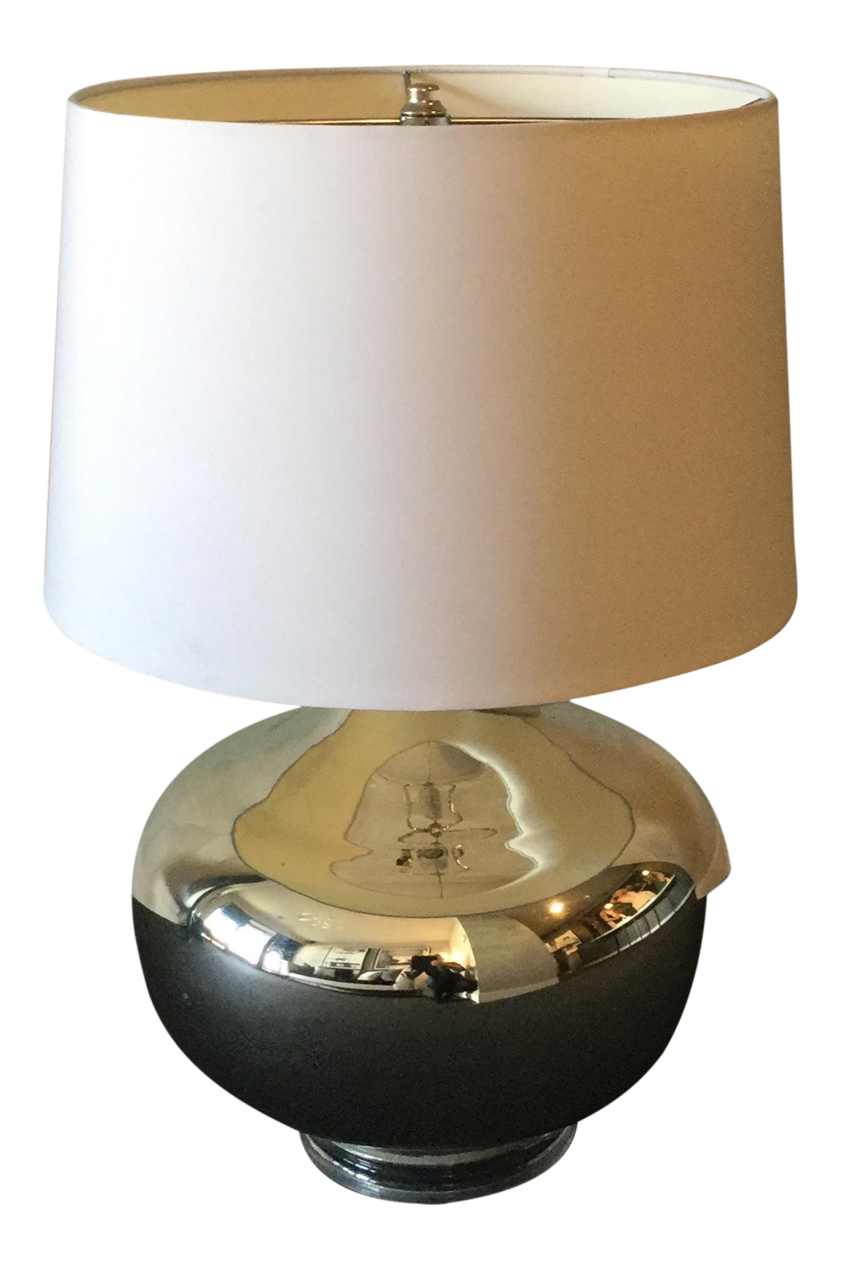 Crate and barrel liza table lamp chairish for Kitchen cabinets lowes with crate and barrel wall art sale