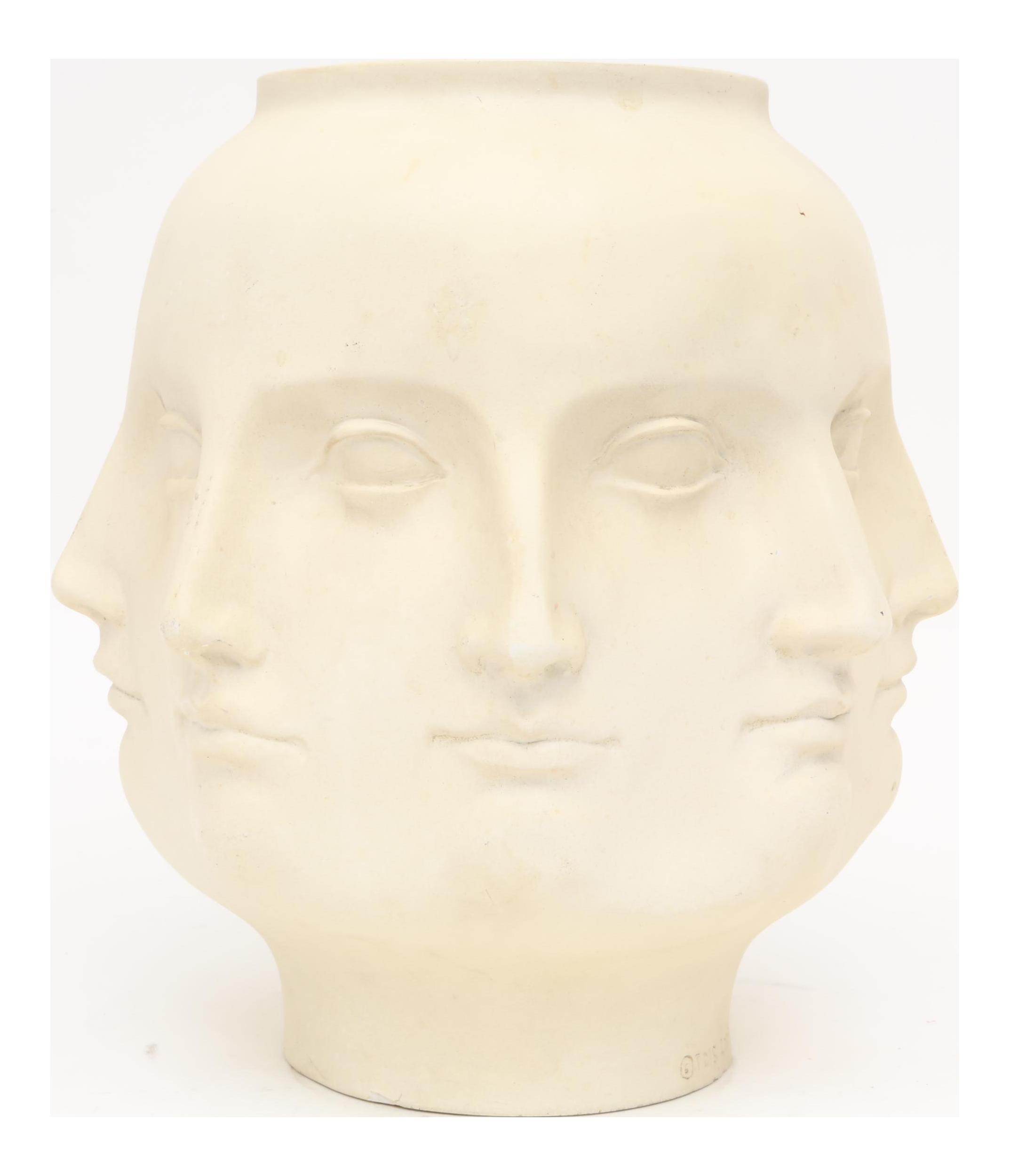 2005 tms fornasetti style perpetual dora mara face vase chairish reviewsmspy