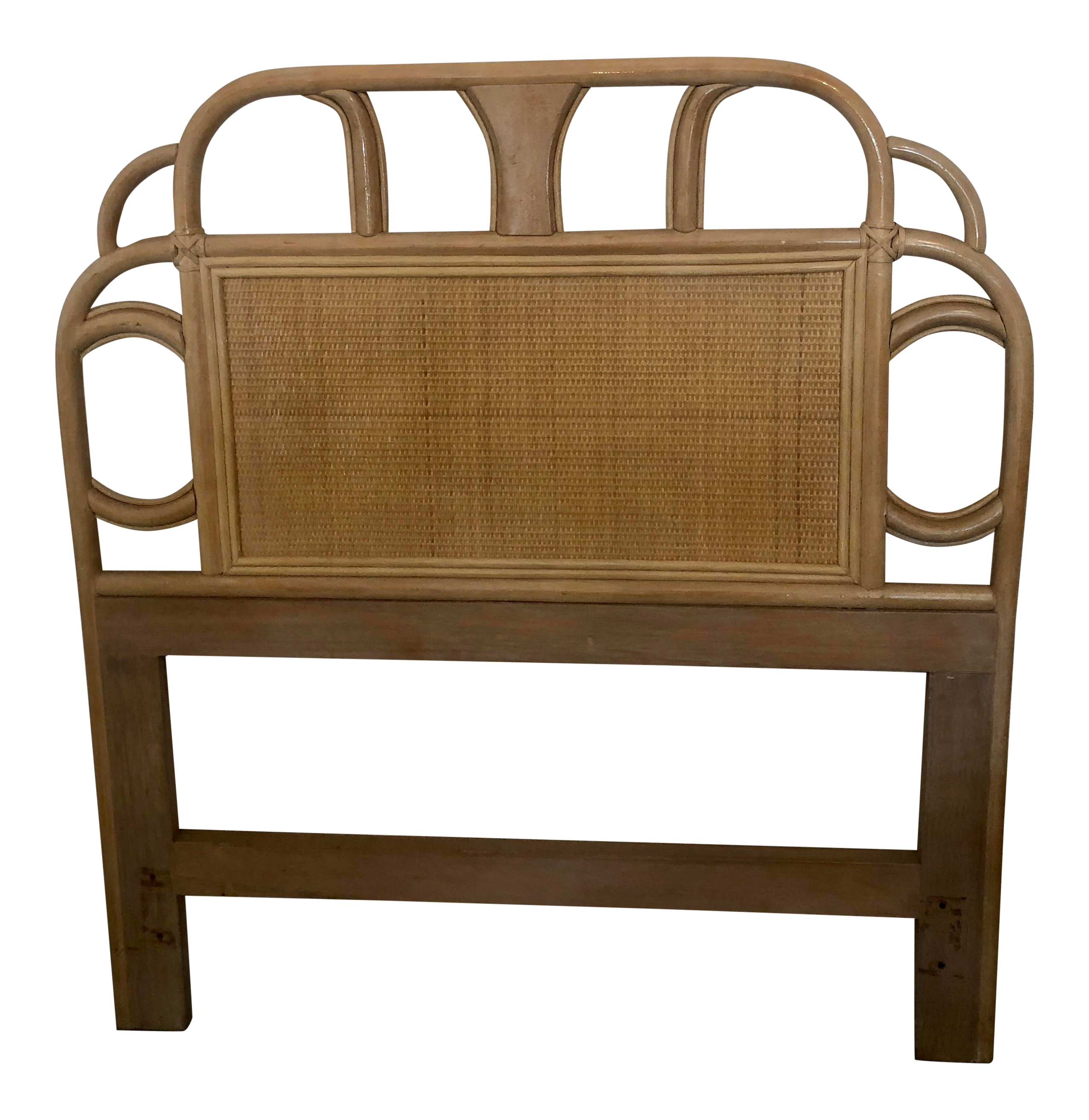 Vintage Mid Century Rattan Bamboo and Cane Tropical Boho Wrapped ...