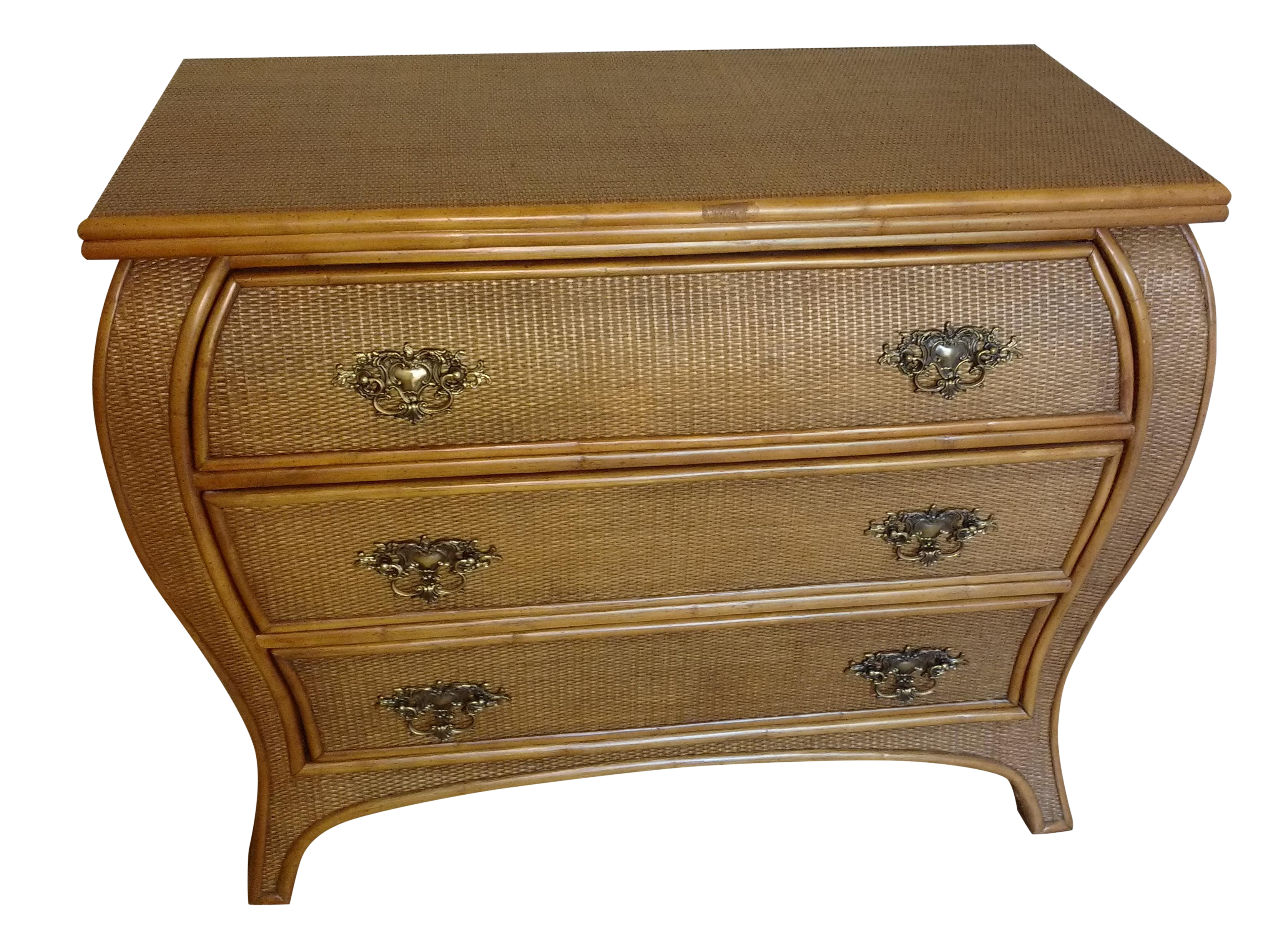 dresser vintage coupon buy sale dixie off seven for white drawer wicker