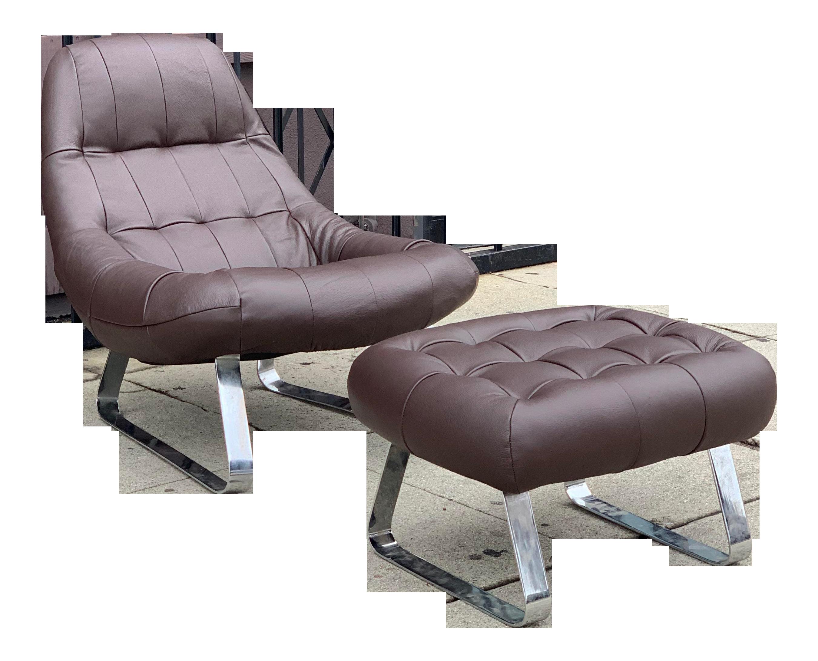 Etonnant Mid Century Modern Percival Lafer Brazilian Lounge Chair And Ottoman |  Chairish