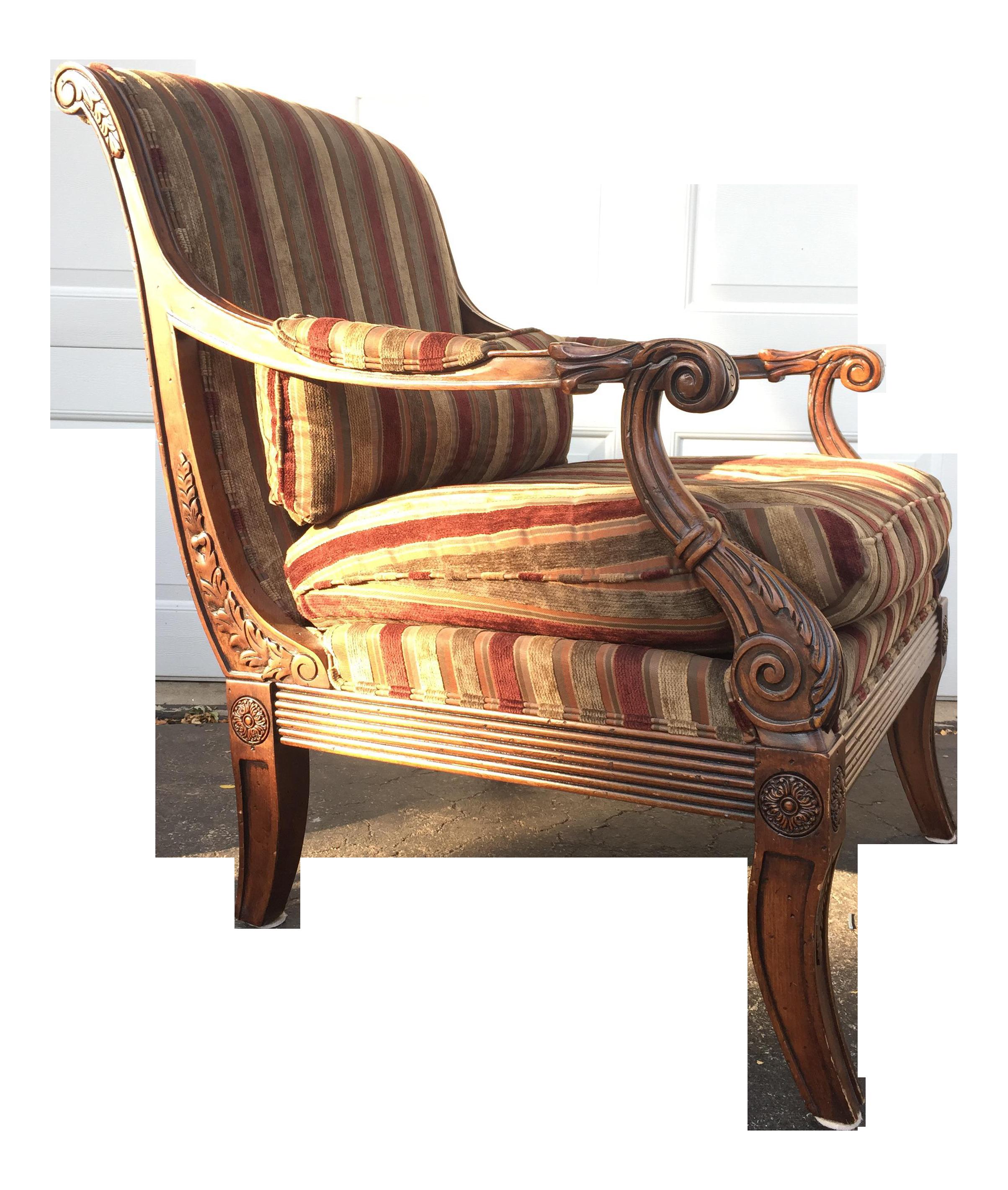 Ethan Allen Wicker Chair Images Grady Cane Back Side