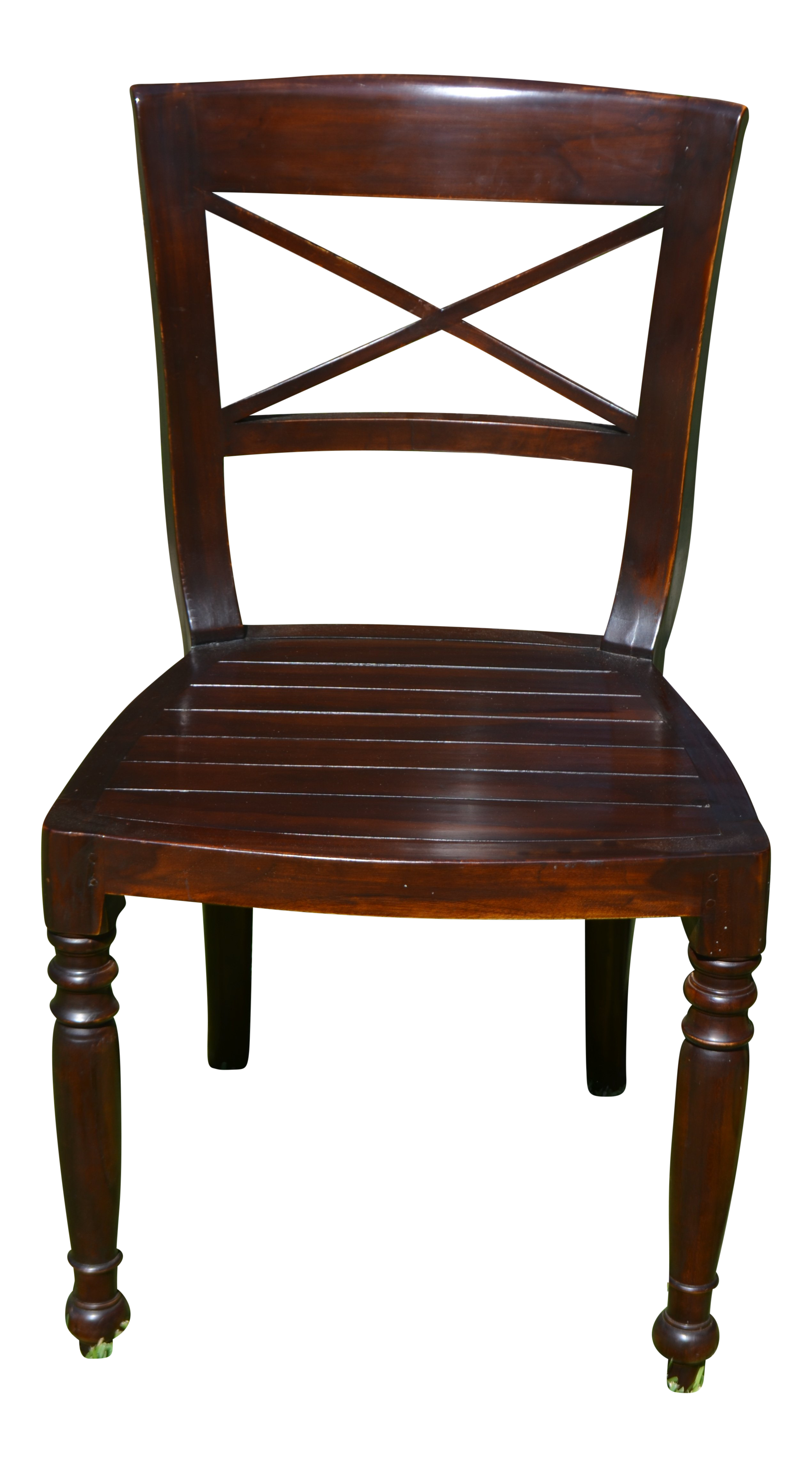 Set of six dutch colonial style side chairs chairish