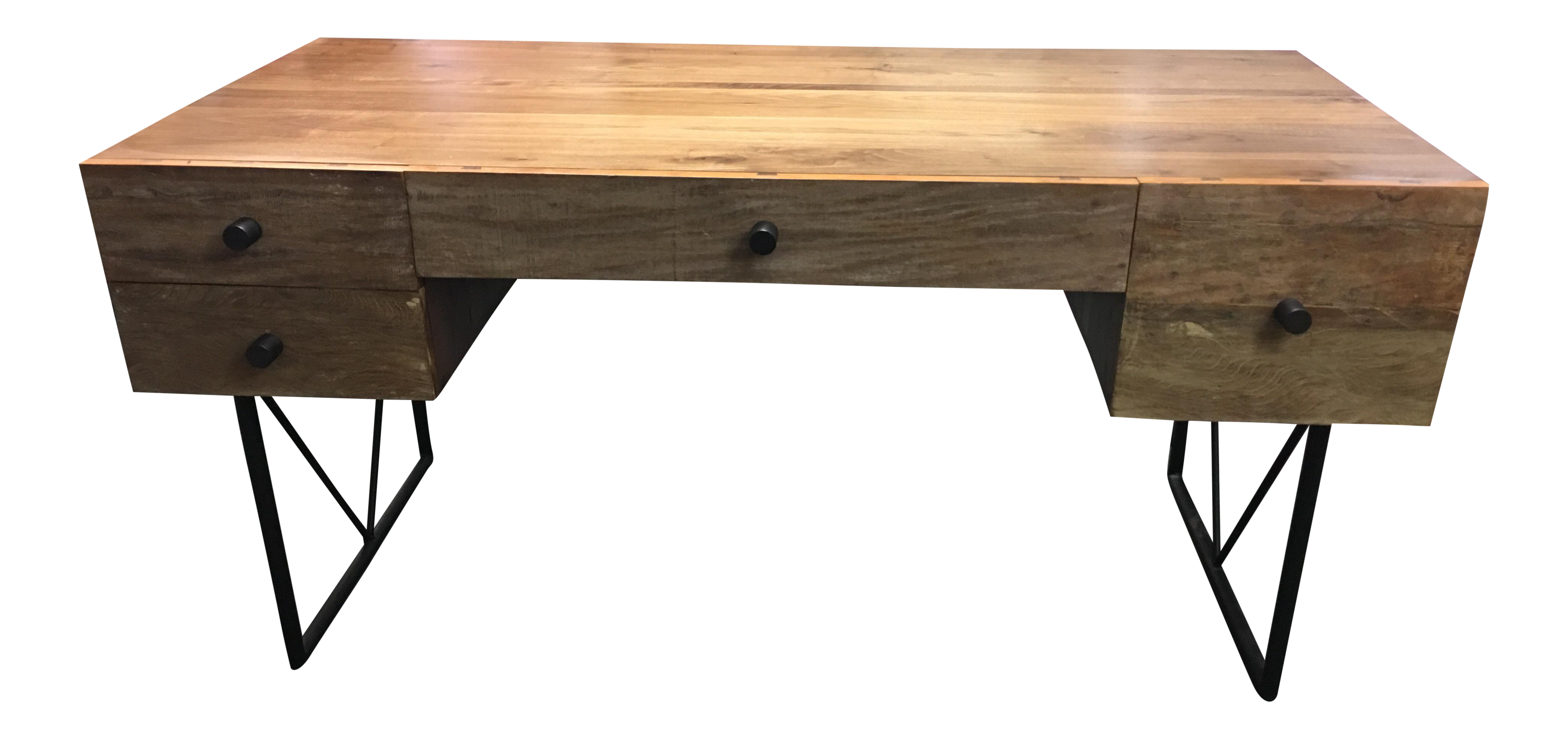 Crate & Barrel Atwood Reclaimed Wood Desk