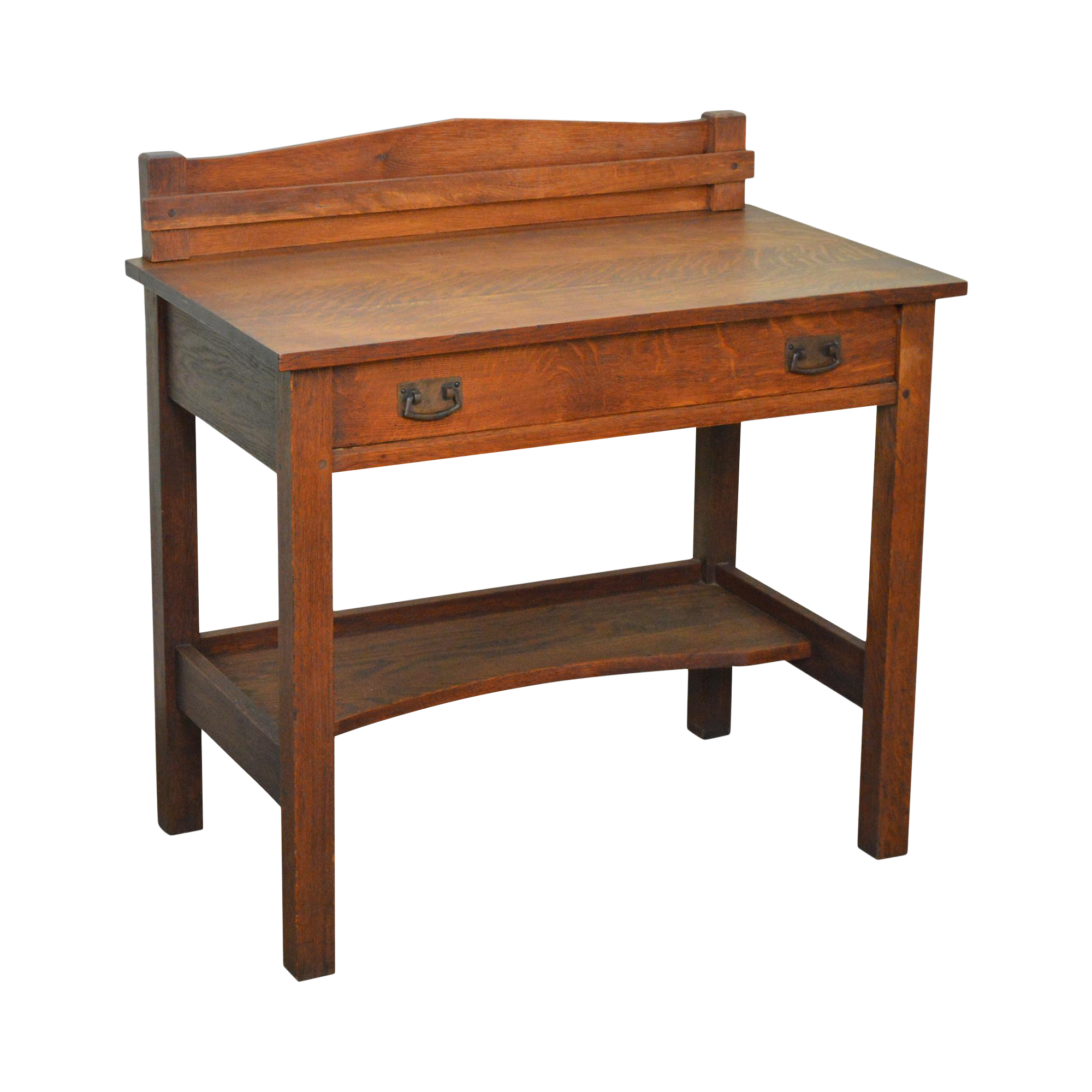 fireside bench of harvey ellis mission writing stickley lovely home awesome desk oak and