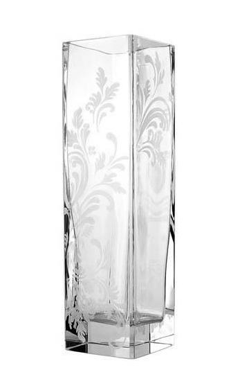 Christofle Marly Tech Crystal Vase Chairish