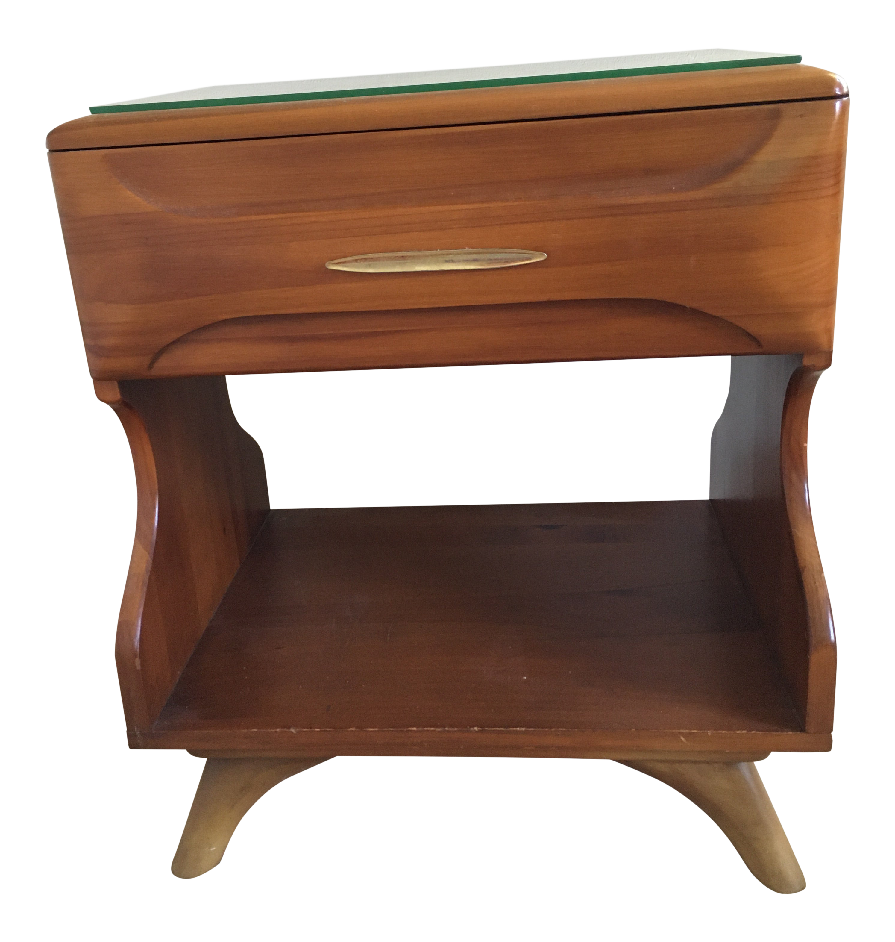 Picture of: Franklin Shockey Mid Century Bedside Table Chairish