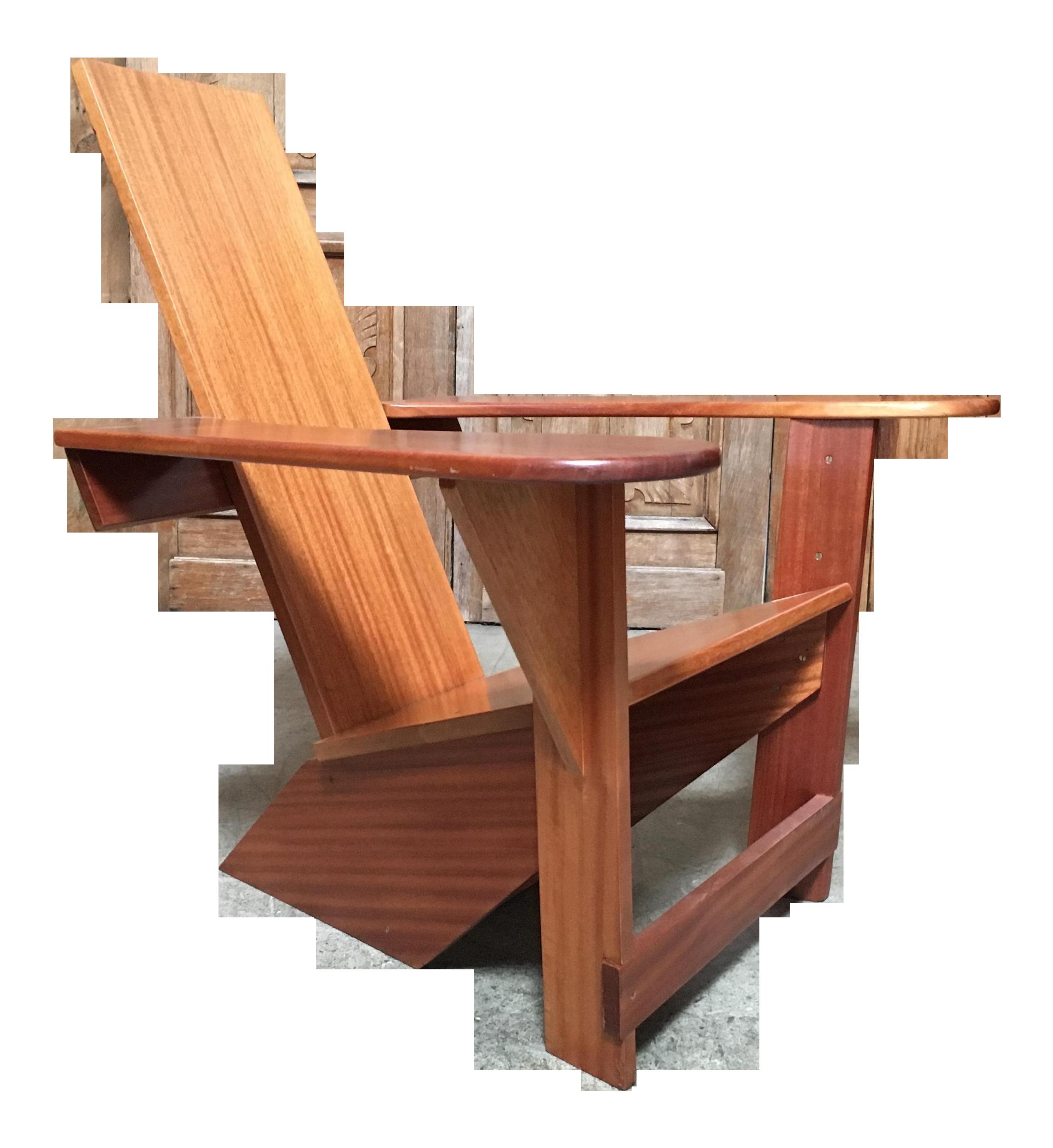 Westport Adirondack Lounge Chair Chairish