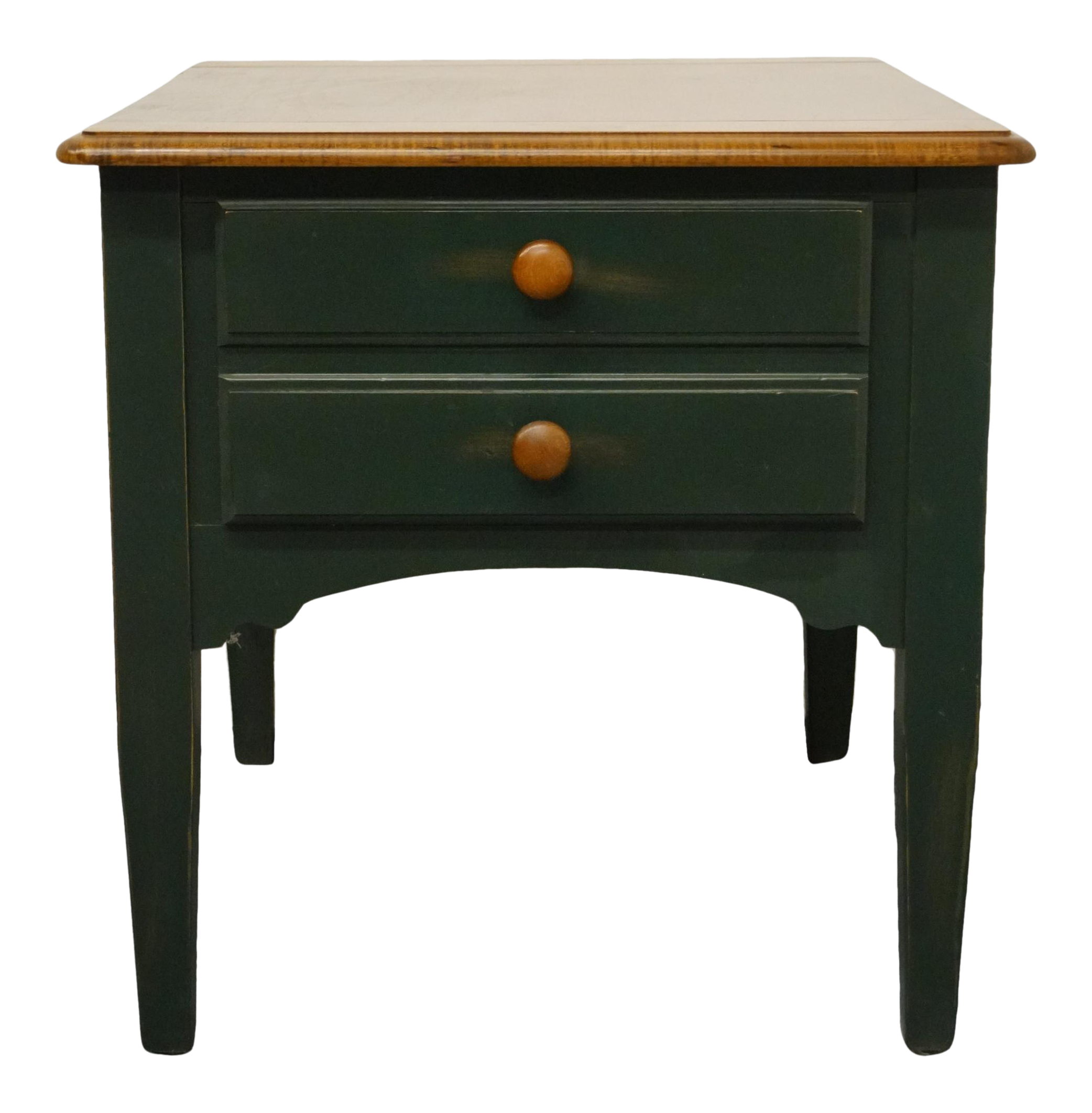 - Hammary Furniture, Hunter Green Country Style Accent End Table