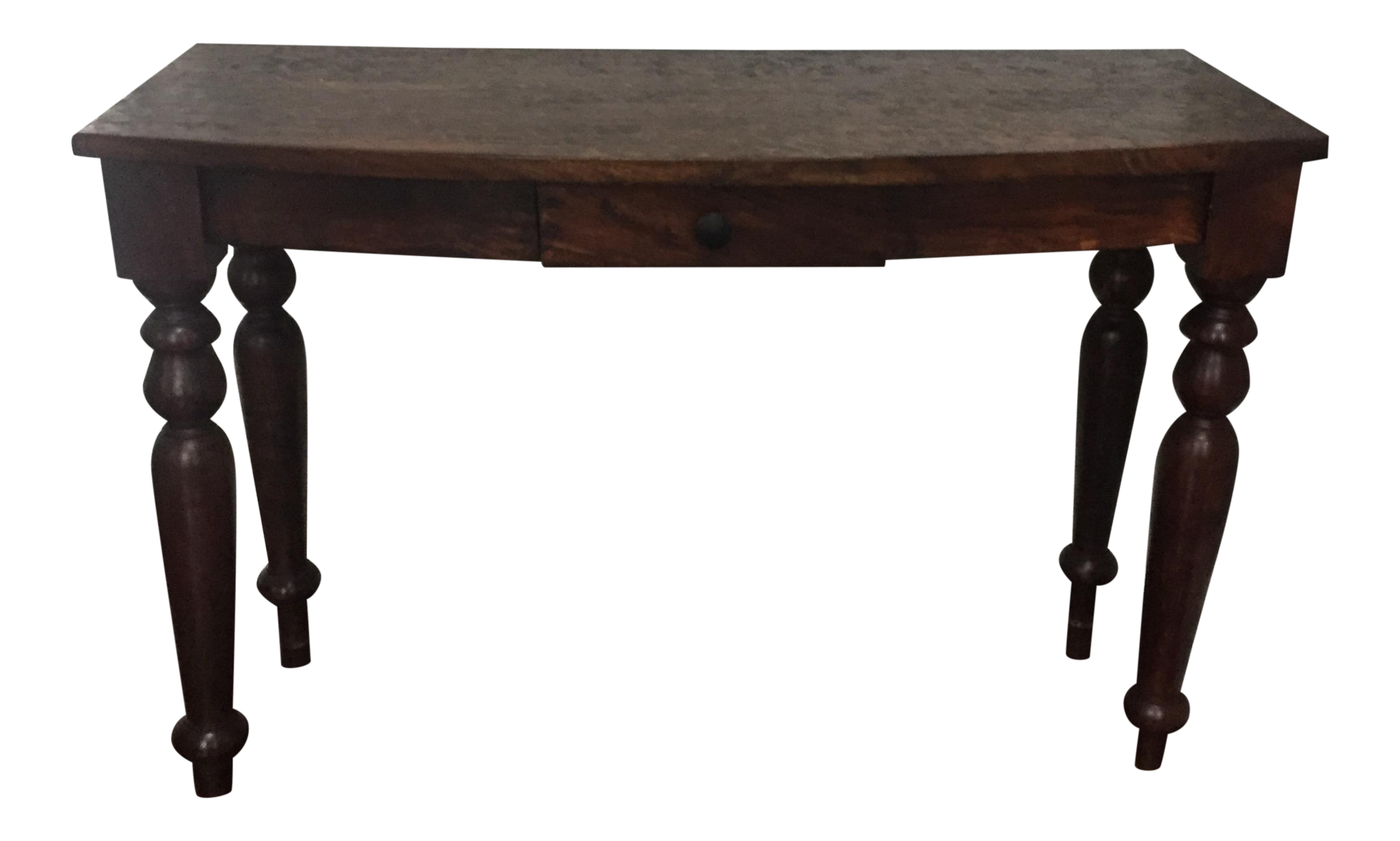 British Colonial Style Console Table   Chairish