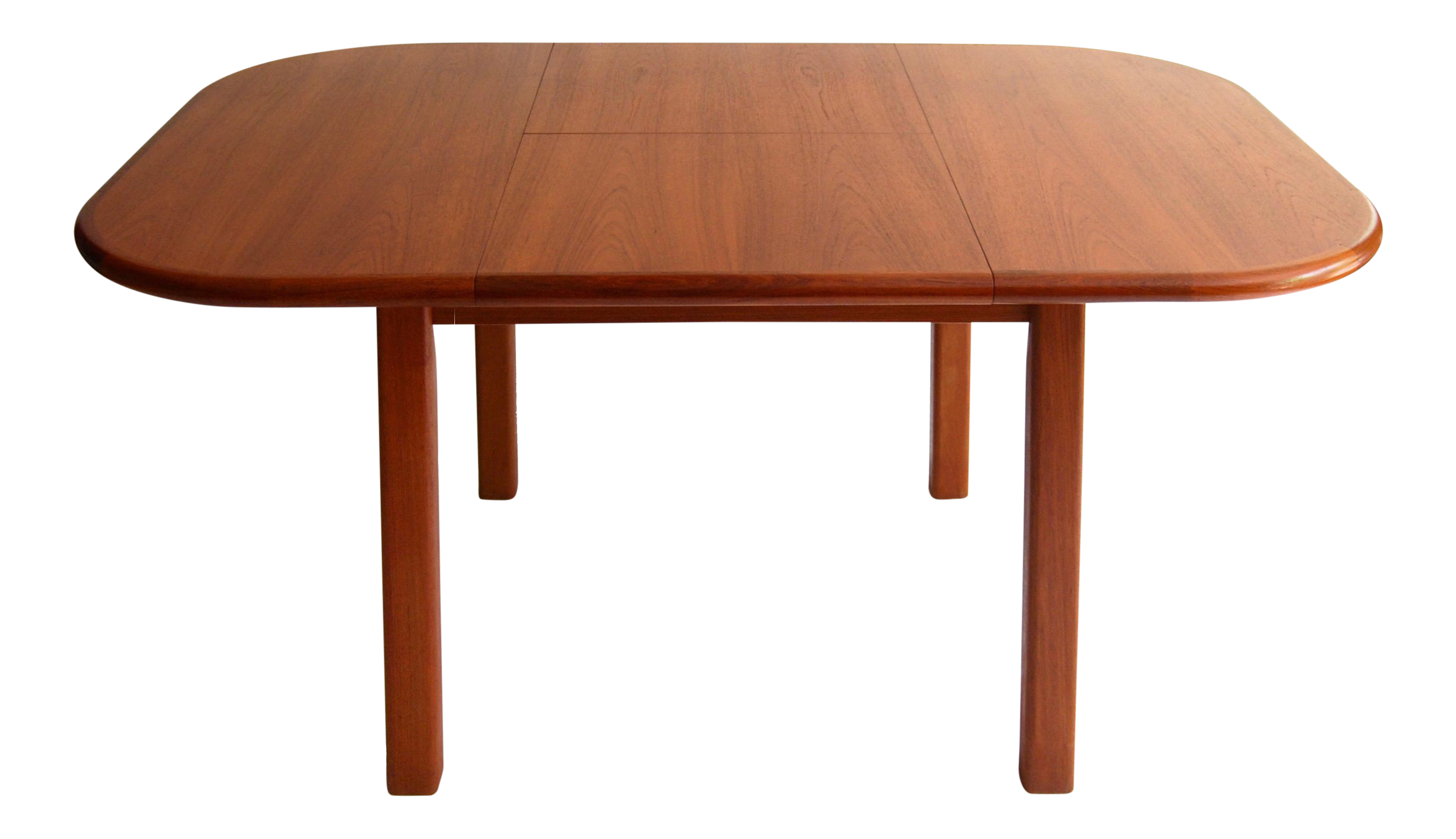 Vintage Mid Century Modern Teak Extending Dining Table By D Scan Chairish
