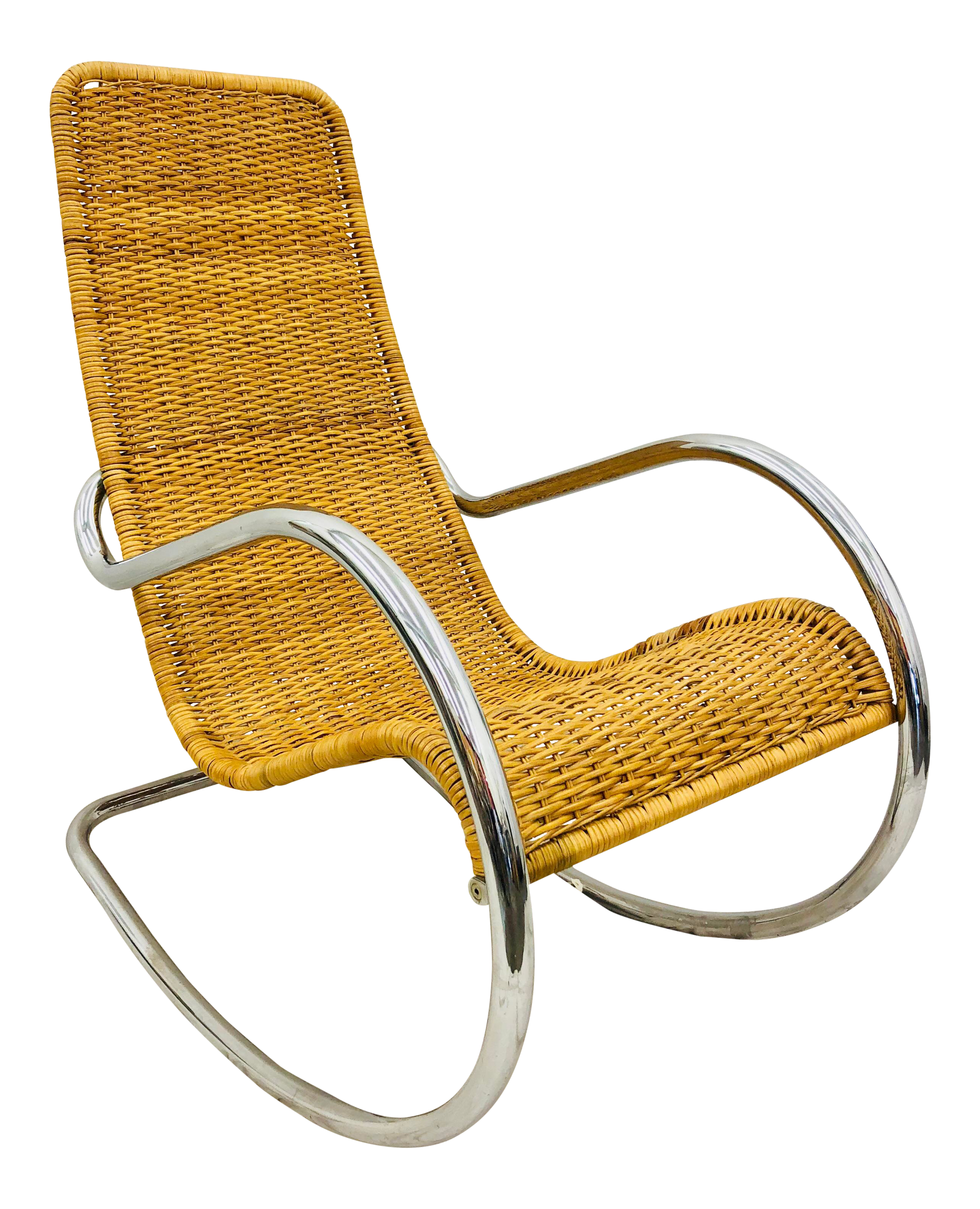 Sensational Mid Century Modern Thonet Rocking Chair Gmtry Best Dining Table And Chair Ideas Images Gmtryco