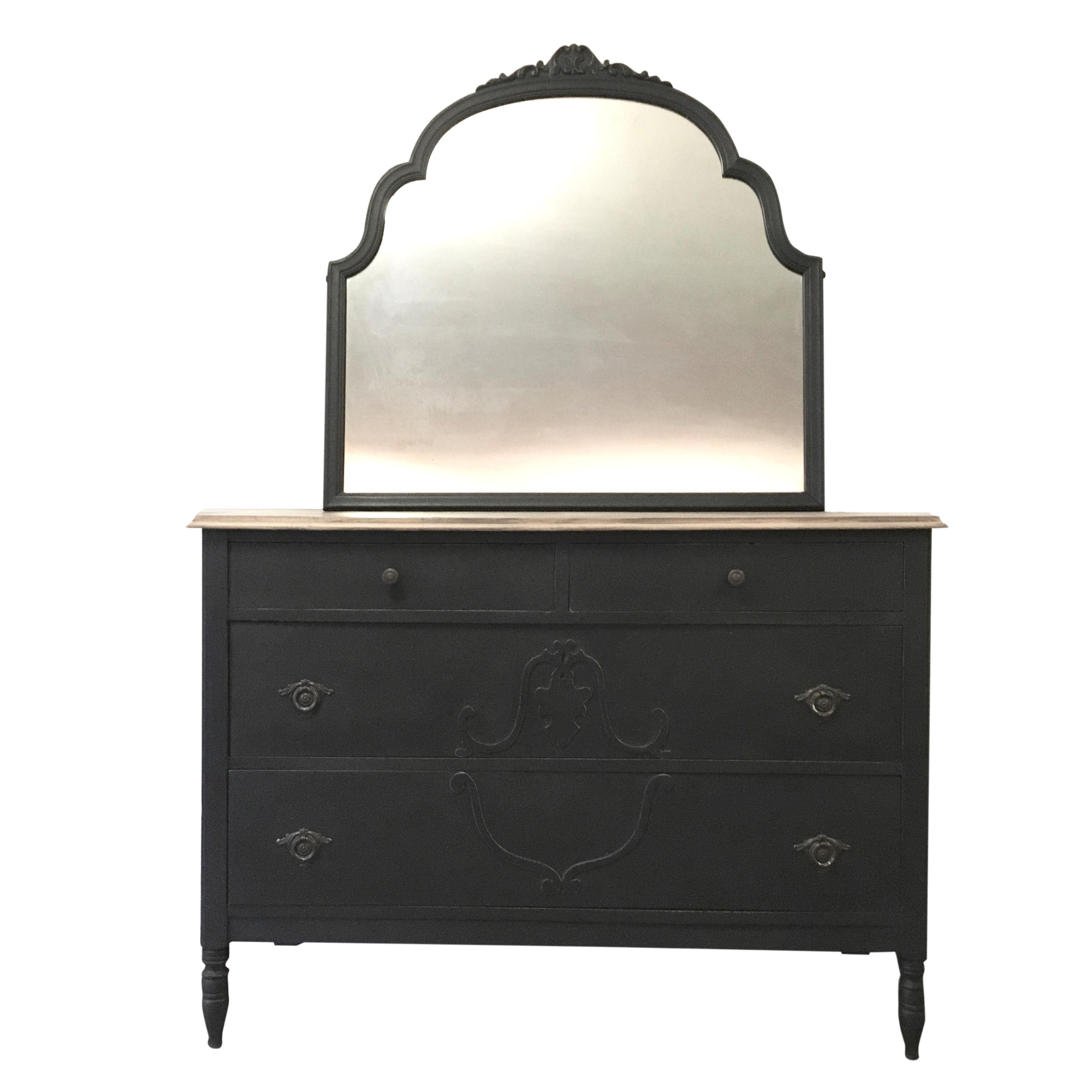 effect black my home co cheap set on furniture family dresser qtsi mirror at with