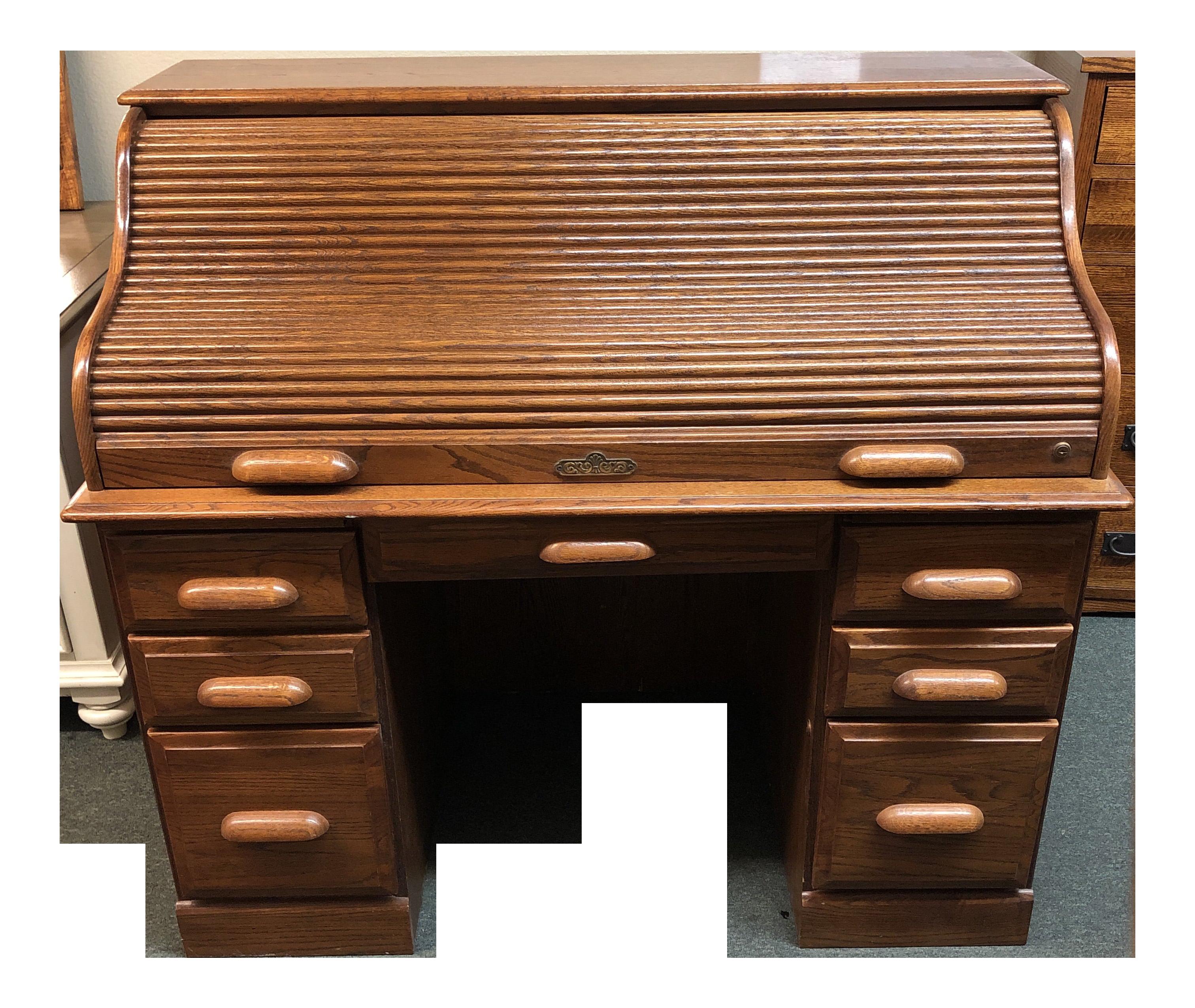 Rolltop Desk By Riverside Furniture Chairish
