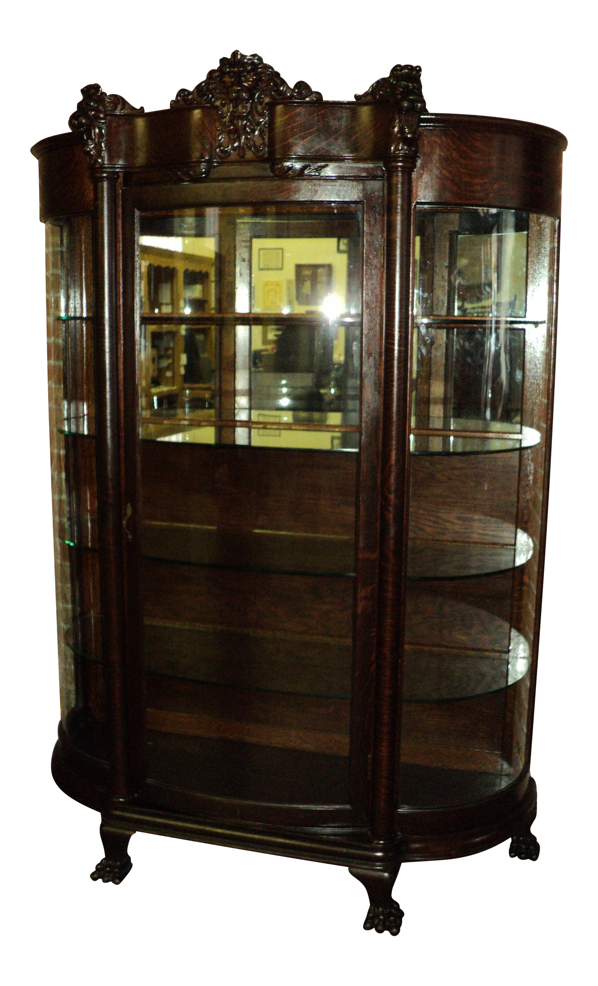oak s cabinet china display pin willoby glass with abbey doors