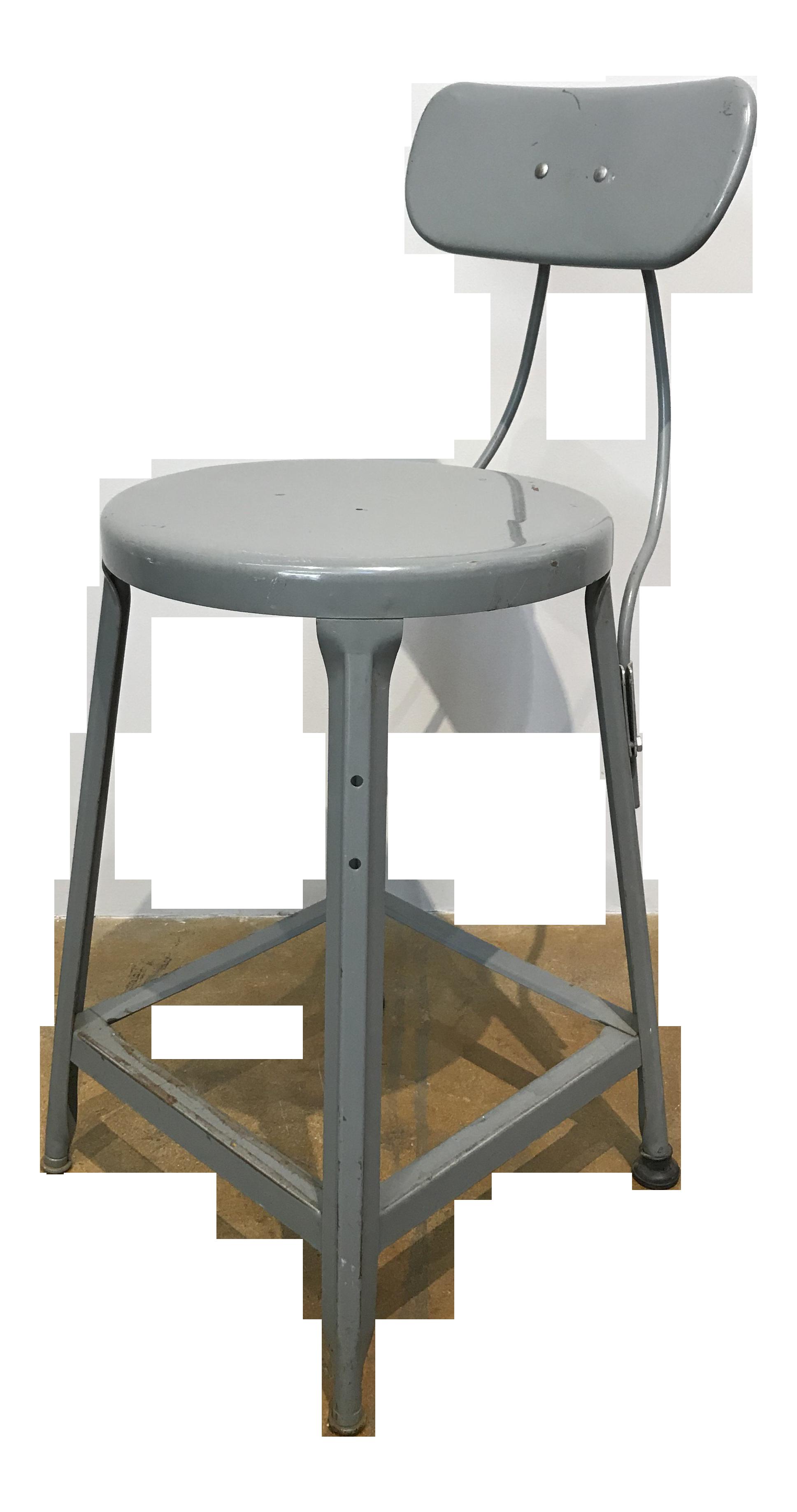 Super Vintage Industrial Metal Stool Inzonedesignstudio Interior Chair Design Inzonedesignstudiocom