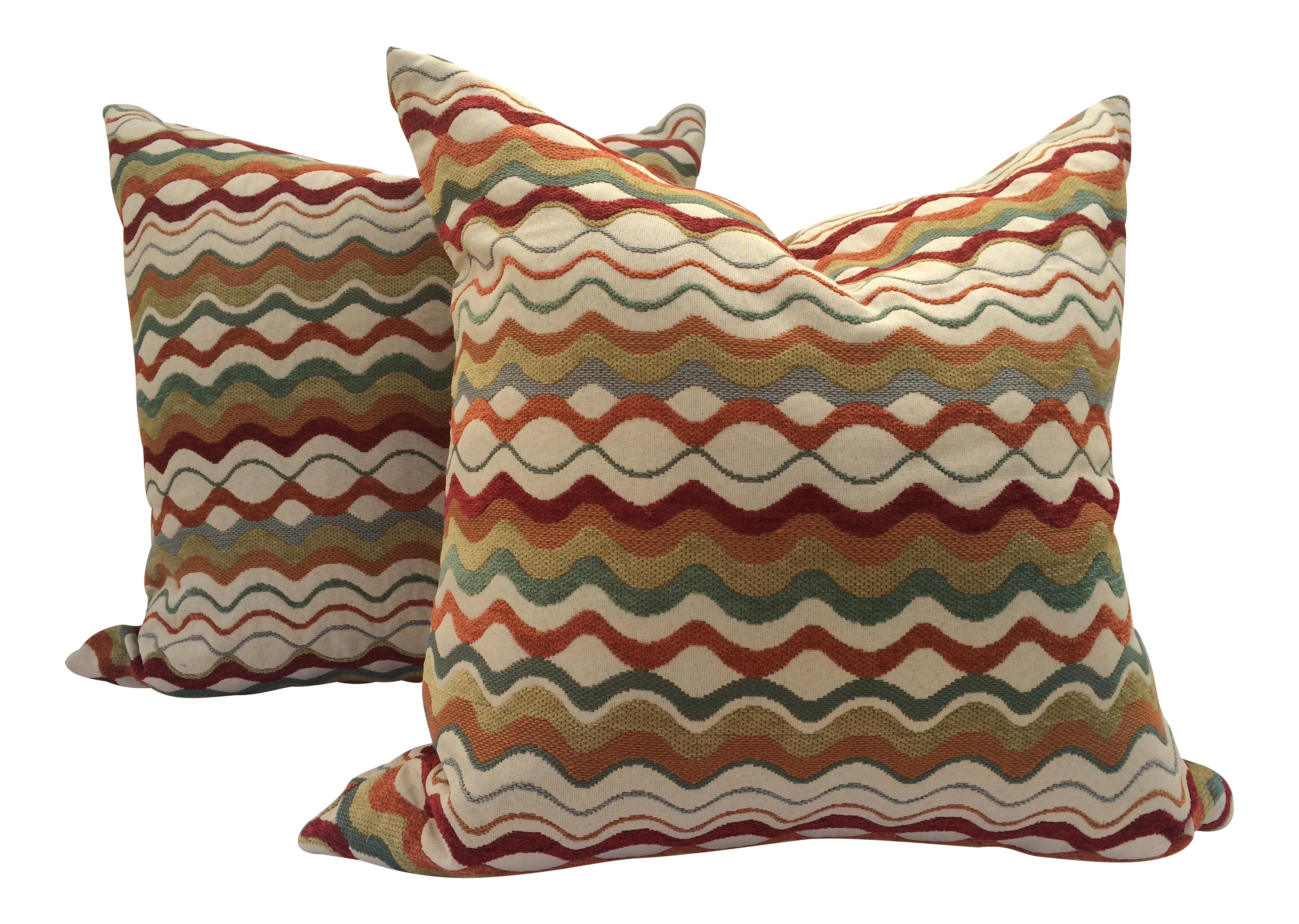 pair style missoni patterned mid pillows a chairish century product pillow