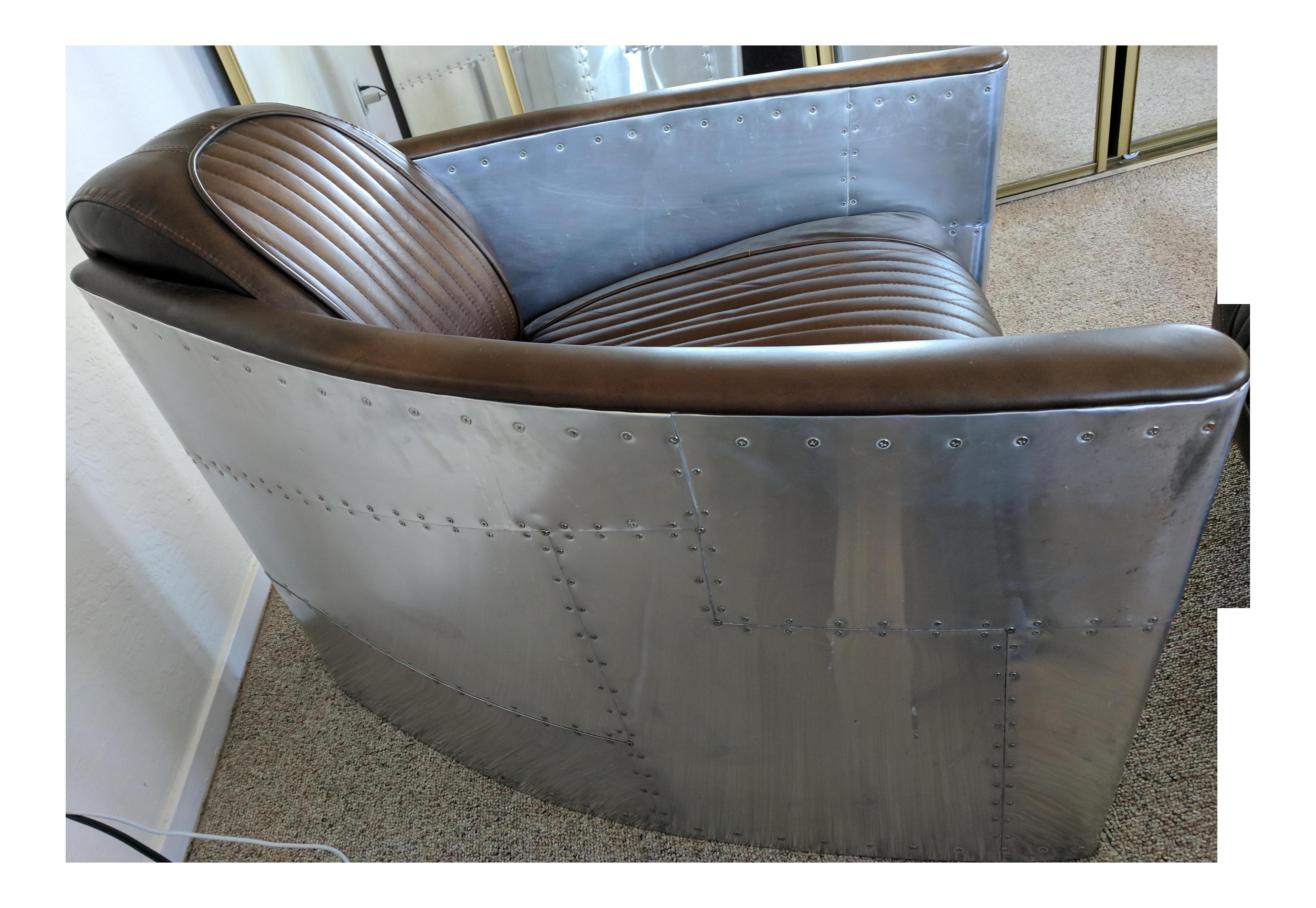 Cool Restoration Hardware Burnham Cognac Aviator Chair Short Links Chair Design For Home Short Linksinfo