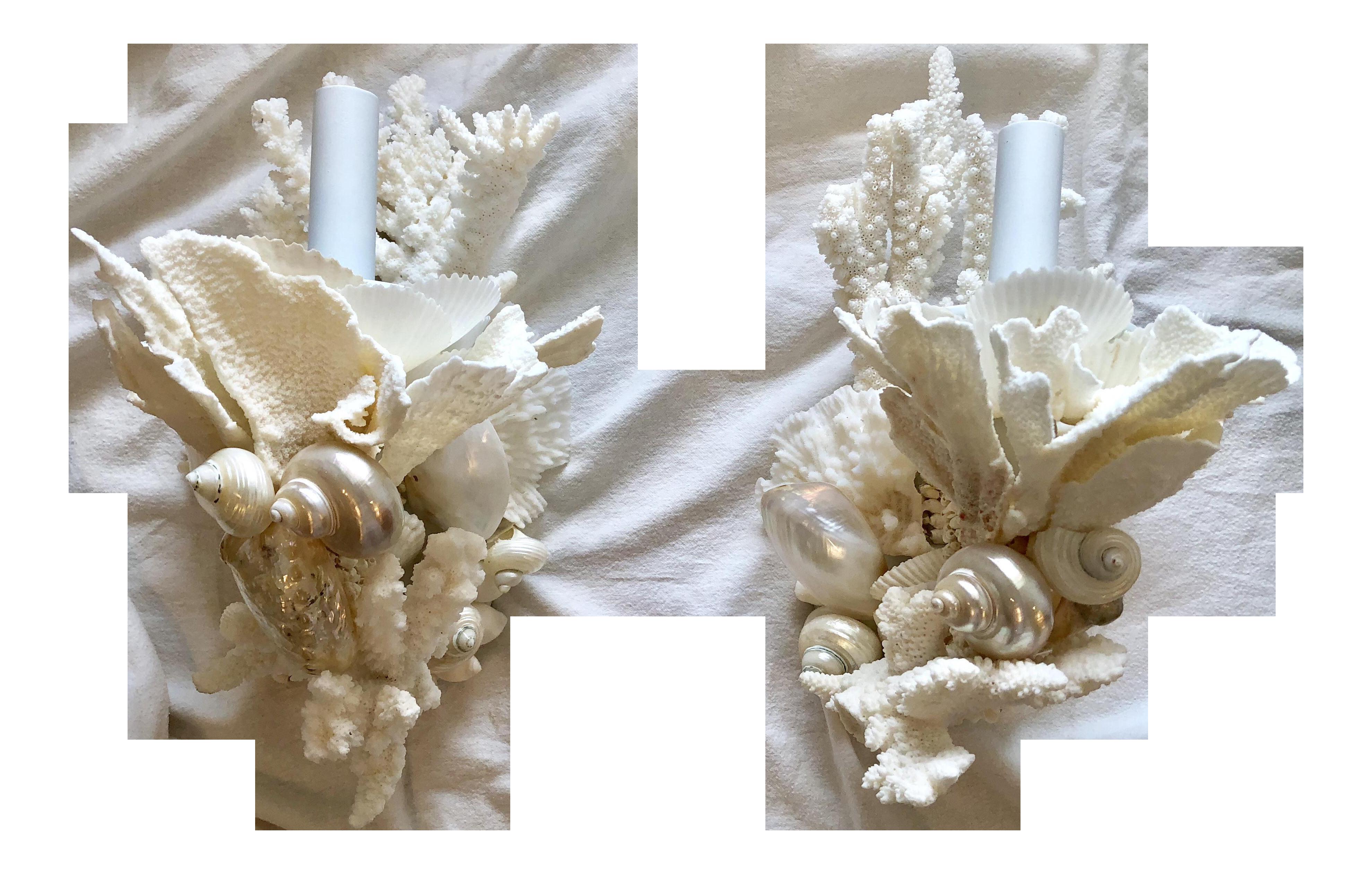 Coral Sconces
