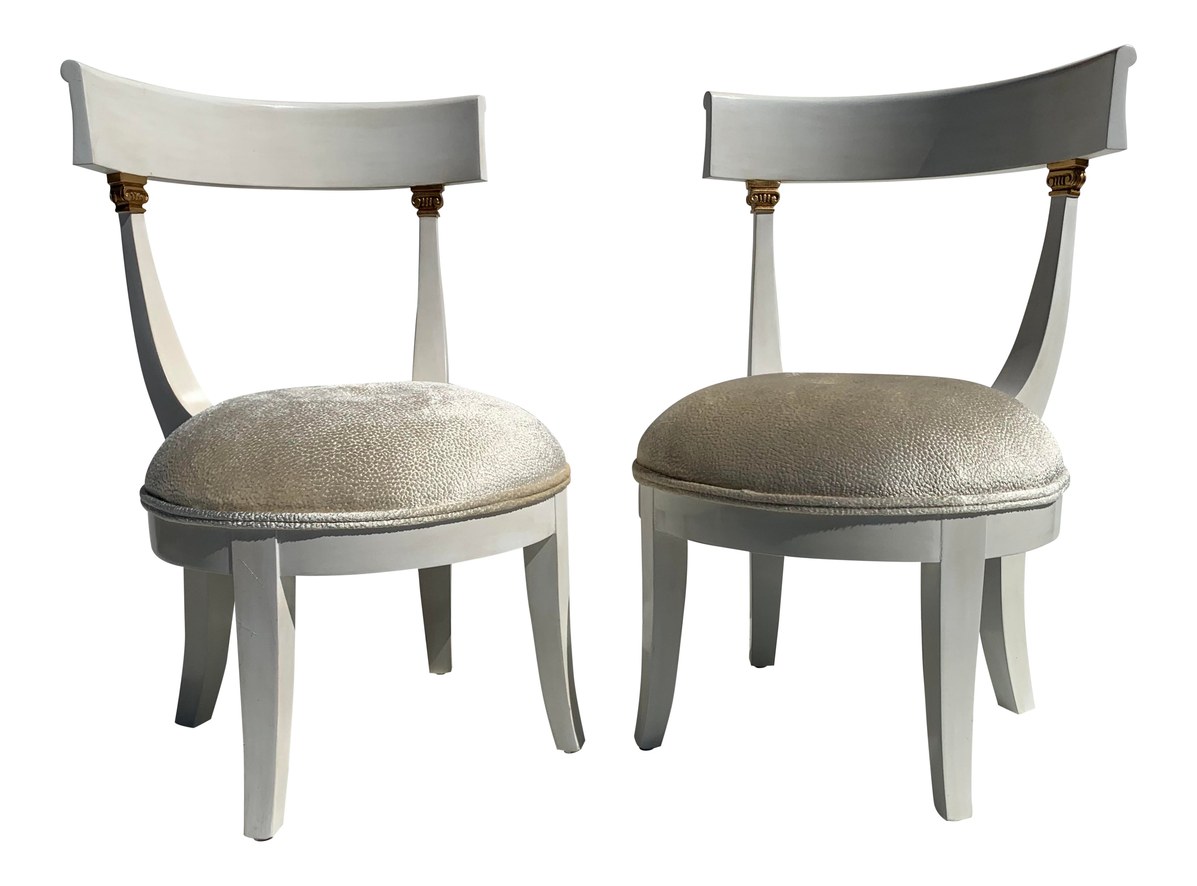 1960s Vintage Vanity Chairs A Pair Chairish