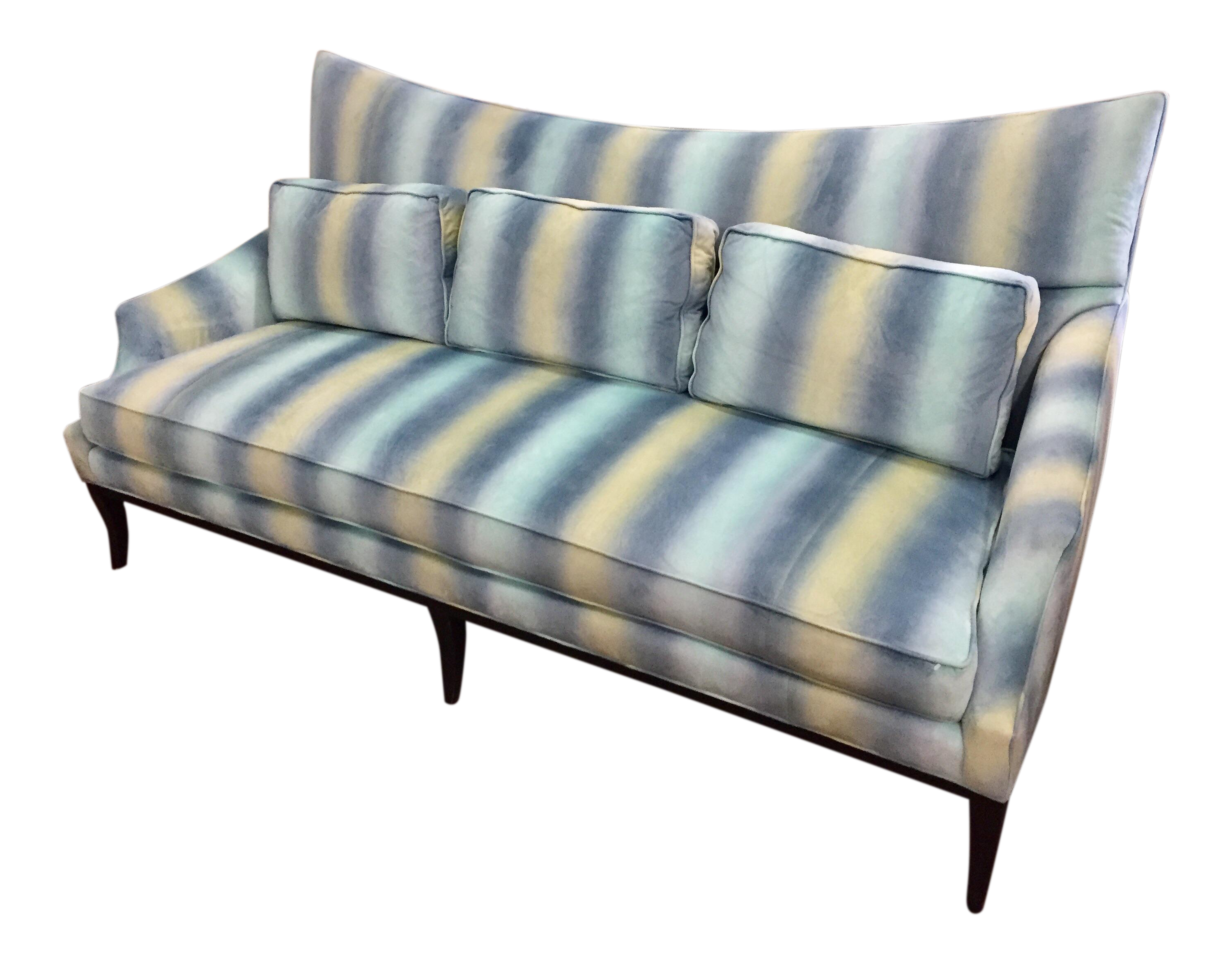 Caracole Retro Sofa Chairish