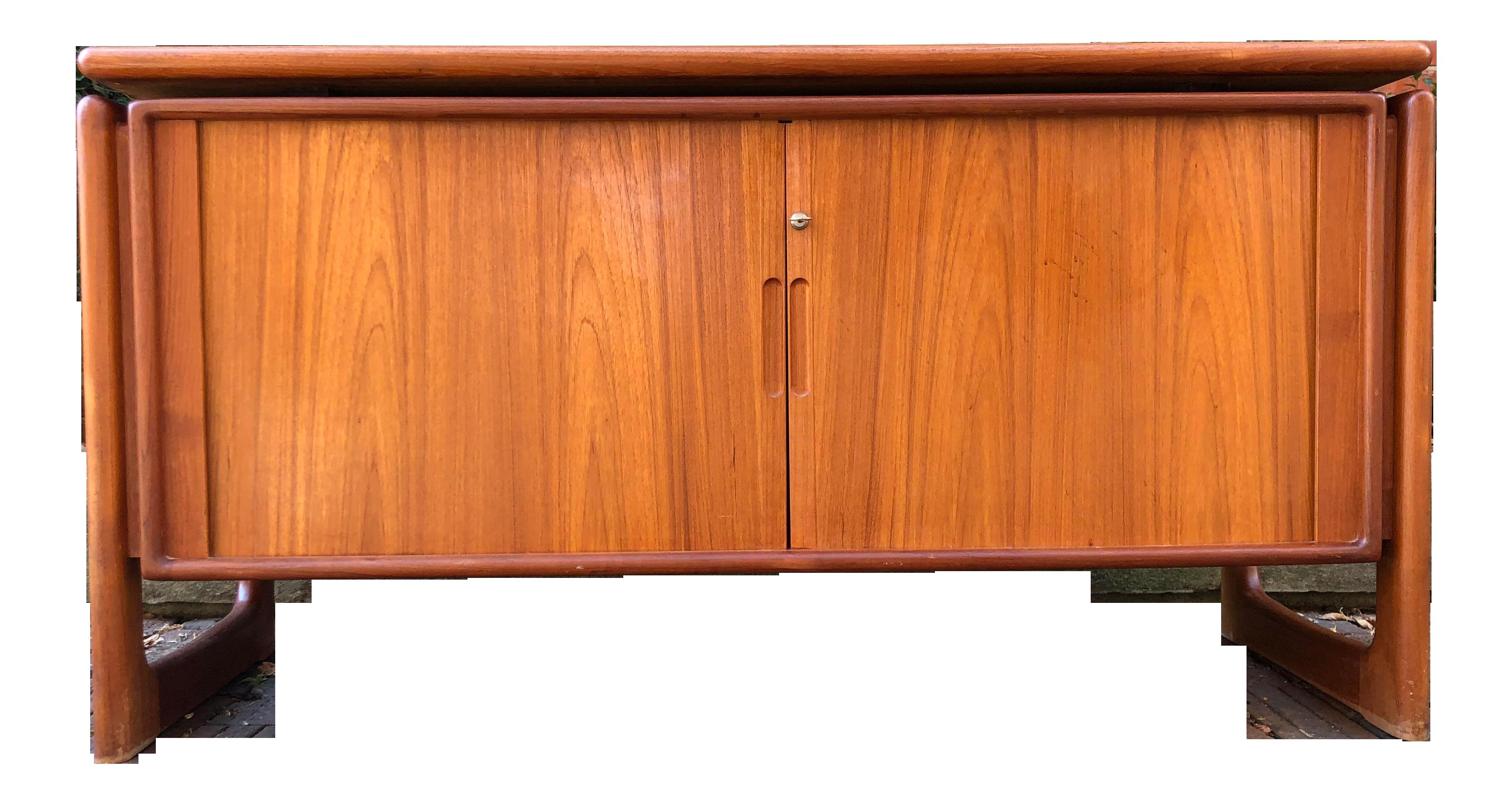 Dyrlund Danish Credenza : Vintage danish modernist teak credenza dyrlund apartment