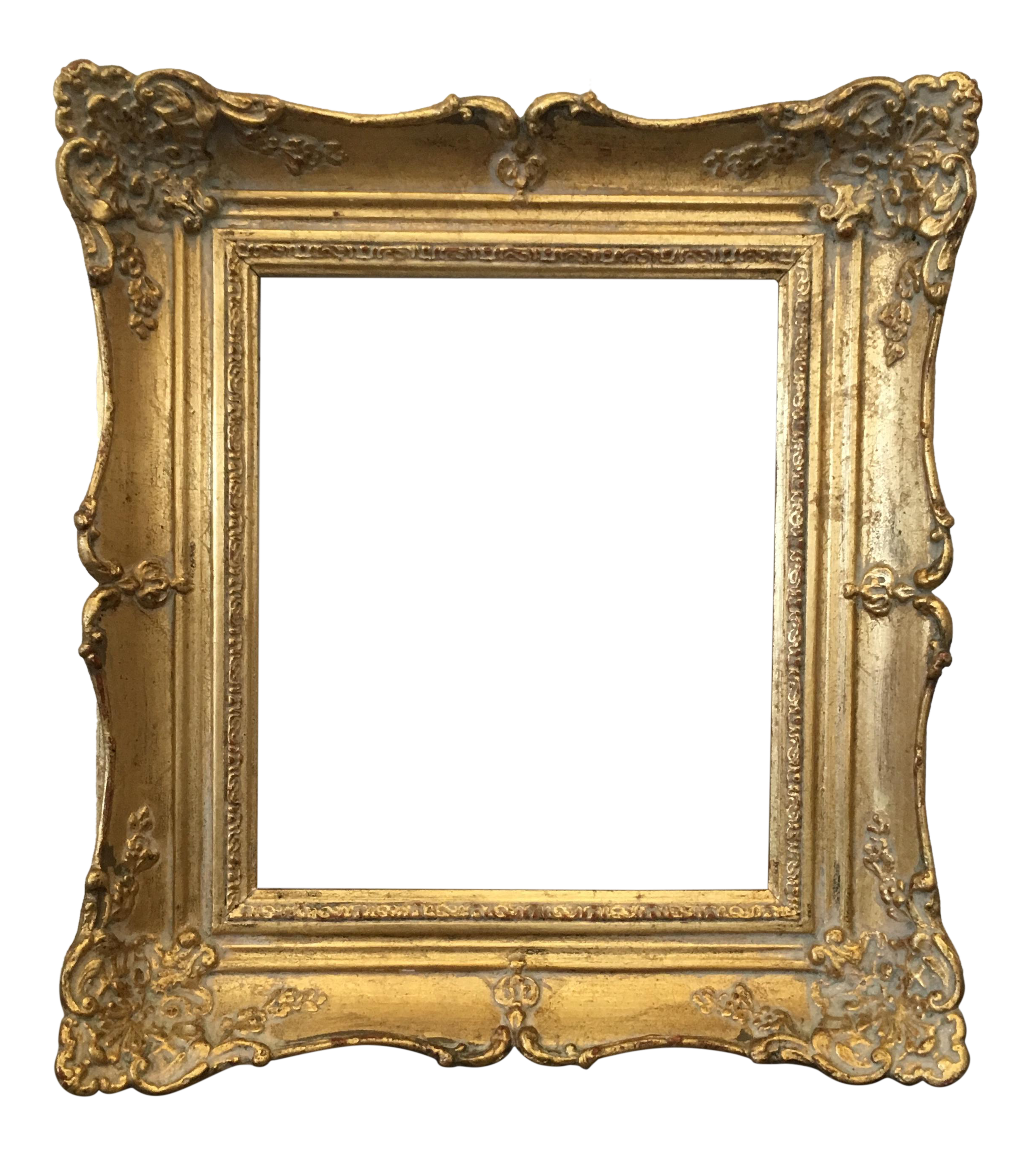 Vintage Gold Carved Wood Frame Chairish