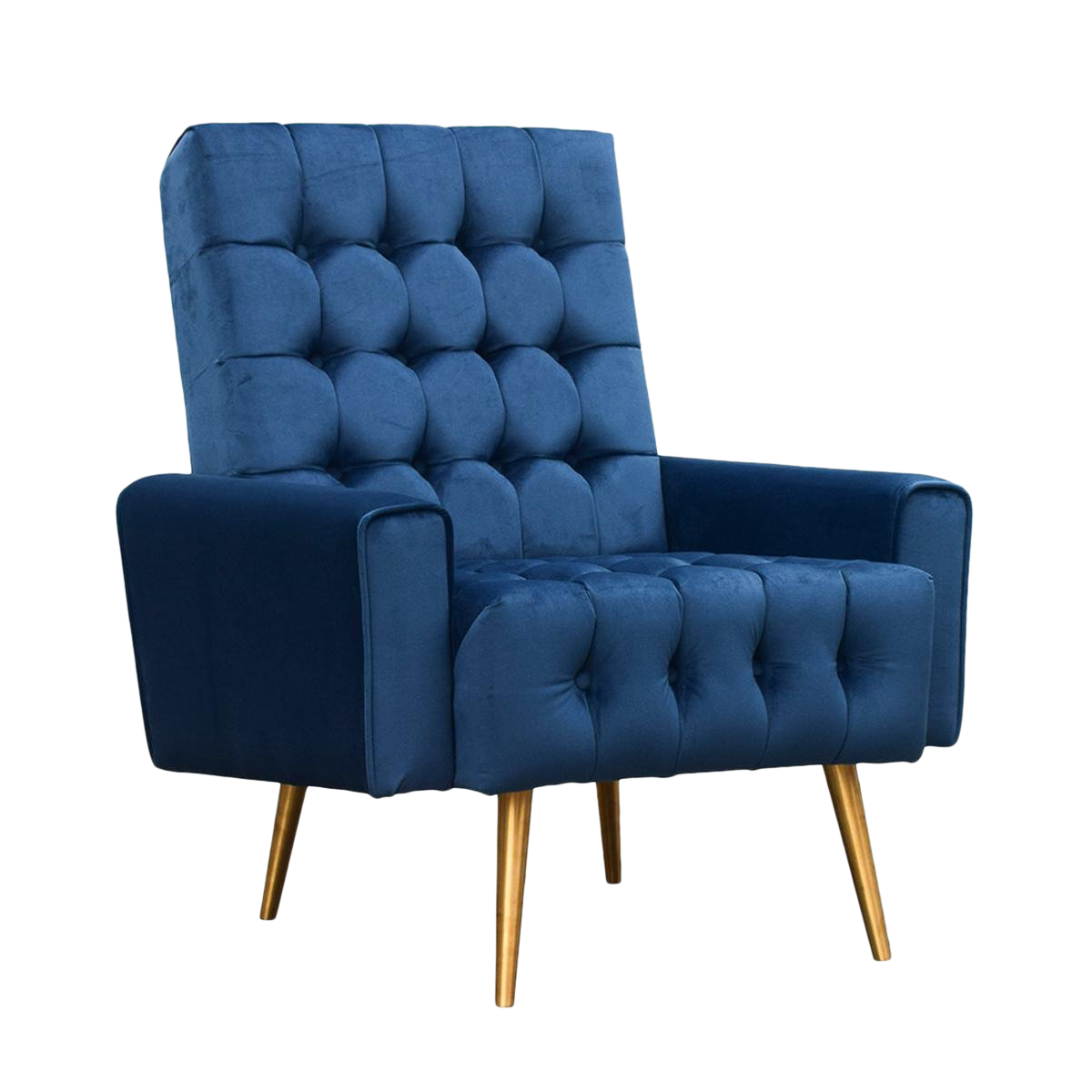 blue occasional chair