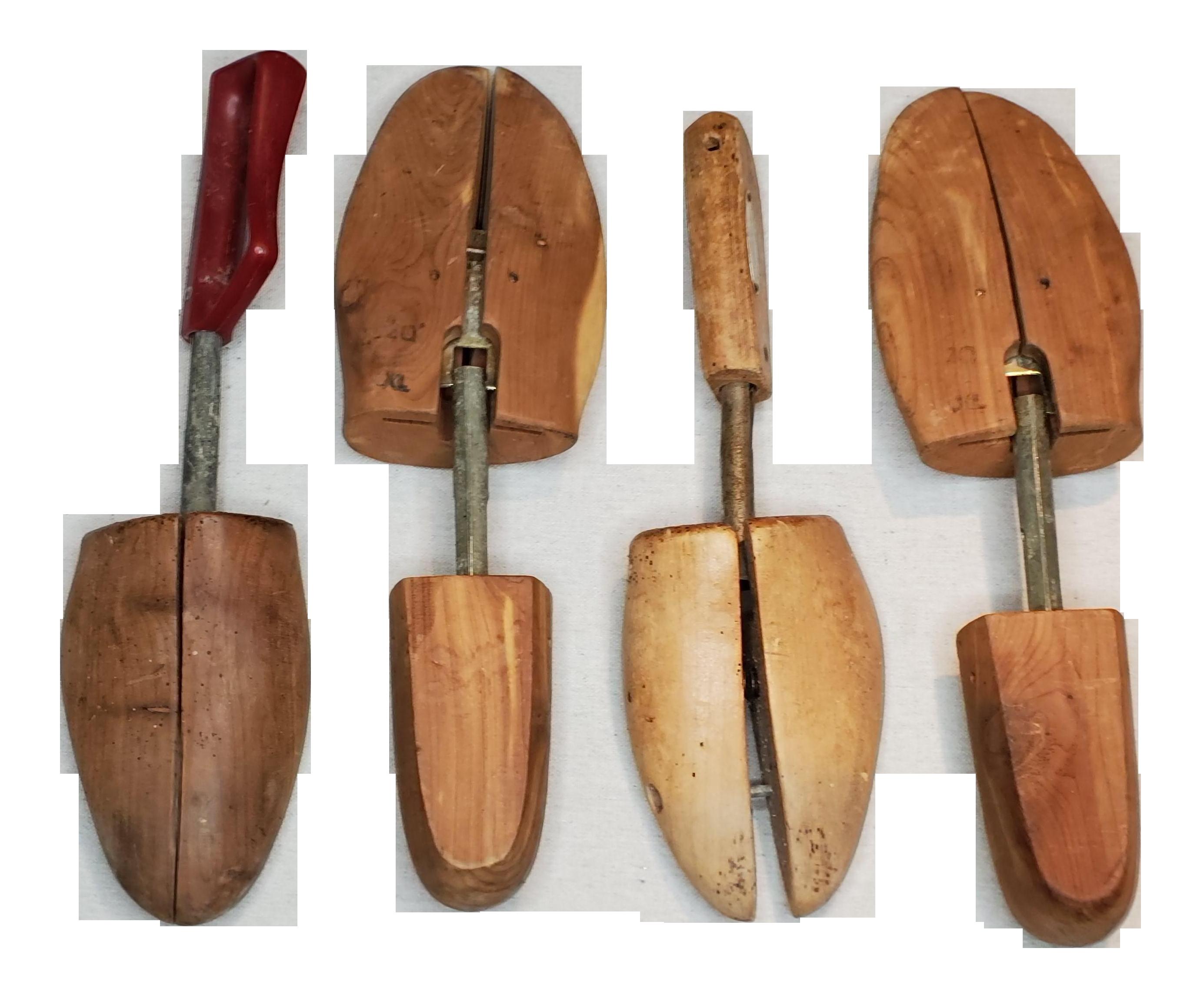 Vintage Wooden Set of Shoe Stretchers