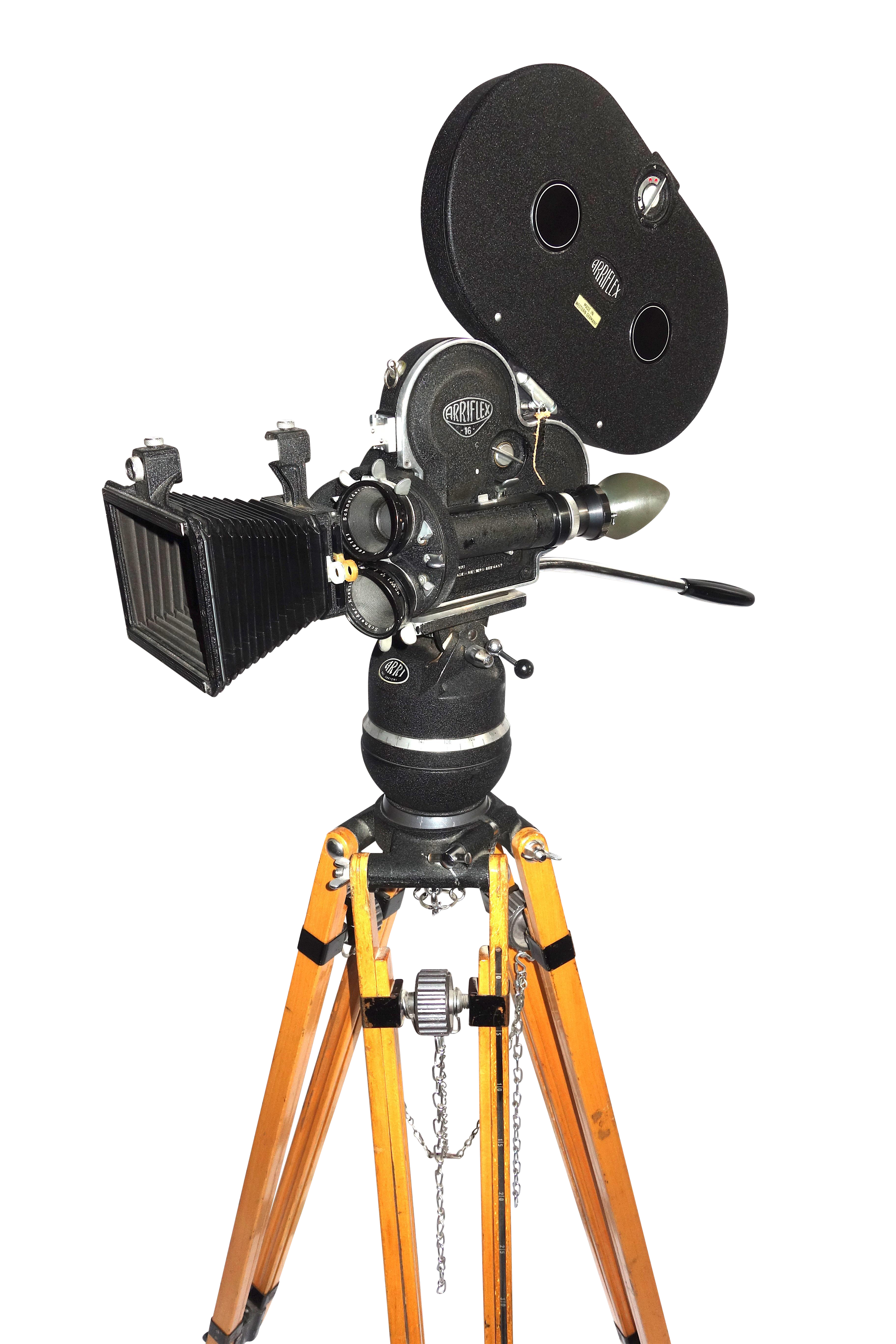 Sophisticated Arriflex Early 16mm Motion Picture Camera