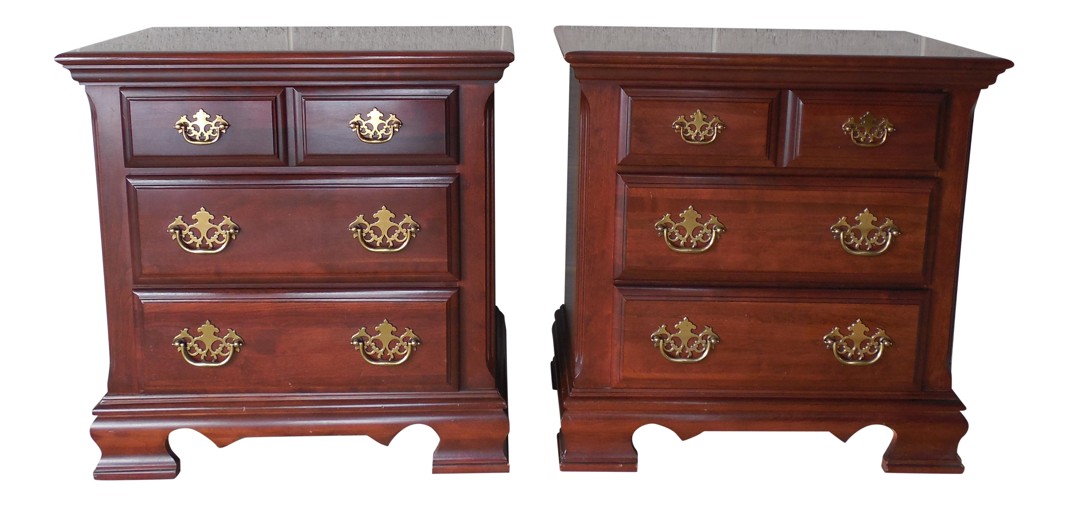 Broyhill Premier Collection Chippendale Style Cherry