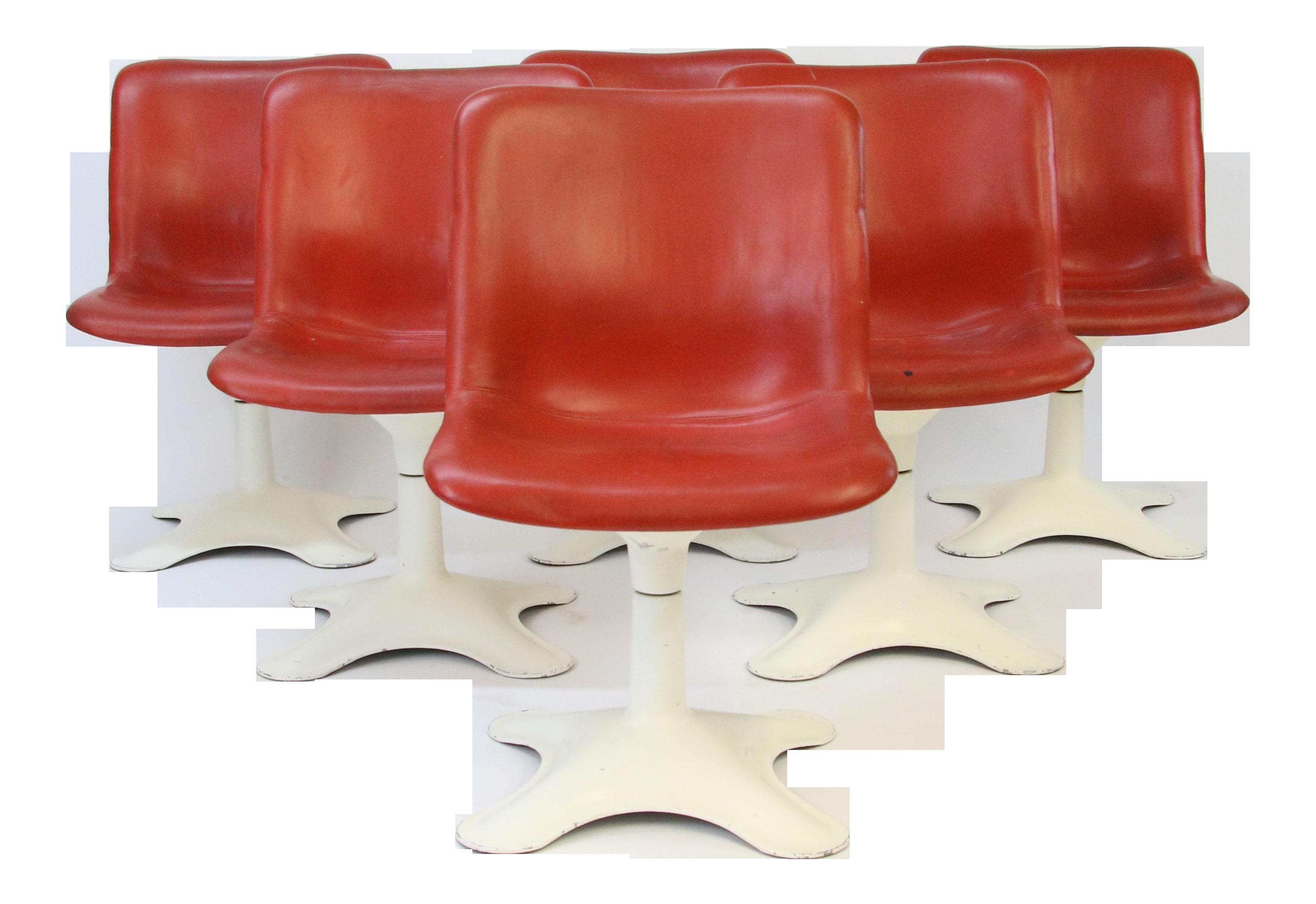 Pleasing Mid Century Modern Yrjo Kukkapuro For Haimi Finland Leather Dining Chairs Set Of 6 Inzonedesignstudio Interior Chair Design Inzonedesignstudiocom