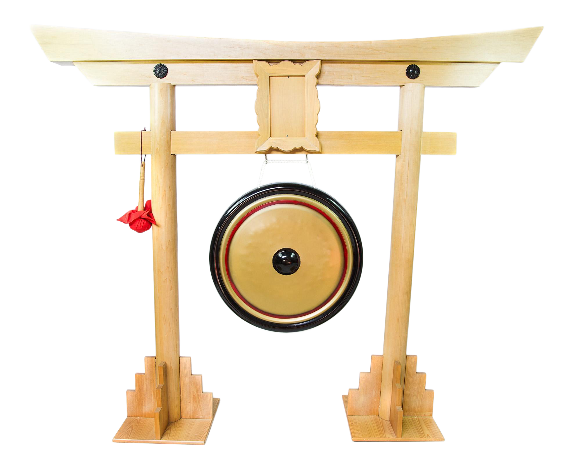 Gong Stand Designs : Traditional chinese gong stand with mallet chairish